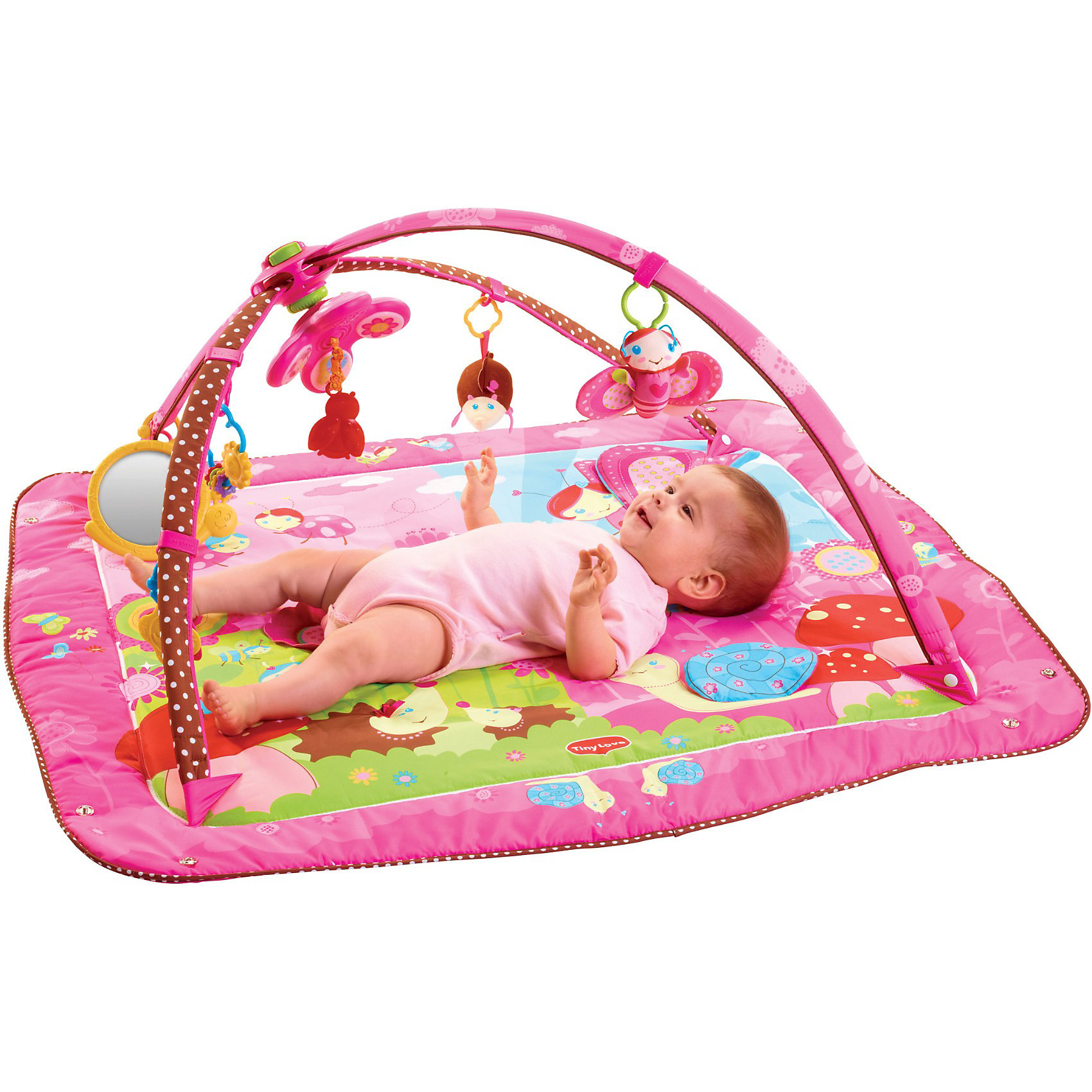 Tiny Love Развивающий  коврик MAXI Моя принцесса (новый дизайн), Tiny Love развивающий коврик моя принцесса 5 в 1 цвет розовый