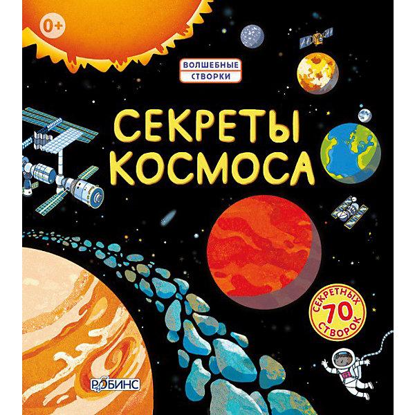 Секреты космосаДетские энциклопедии<br>Добро пожаловать в просторы космоса. <br>Соверши увлекательное путешествие по Солнечной системе.<br>70 тайных створок откроют тебе секреты и тайны космического пространства. Соверши путешествие на Луну, побывай на космической станции вместе с астронавтами, узнай, какая самая яркая звезда и как она появилась, как зарождались планеты и как устроена наша Солнечная система.<br><br>Дополнительная информация:<br><br>Формат: 220х200 мм<br>Вес: 530 г<br>Автор: Роб Ллойд Джонс.<br>Иллюстраторы: Бенедетт Гиауфрет, Энрик Русин.<br>Переводчик: Иван Цапко.<br>Язык: русский.<br>Количество страниц: 12 стр.<br>Переплет: твердый.<br>Иллюстрации: цветные.<br><br>Купить книгу Секреты космоса, Робинс можно в нашем магазине.<br><br>Ширина мм: 220<br>Глубина мм: 200<br>Высота мм: 30<br>Вес г: 514<br>Возраст от месяцев: 36<br>Возраст до месяцев: 72<br>Пол: Унисекс<br>Возраст: Детский<br>SKU: 3423254