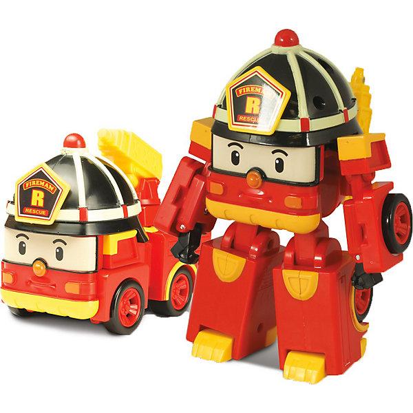 Игрушка Рой трансформер, Робокар ПолиИгрушки<br>Рой трансформер, Робокар Поли - машинка-трансформер, пожарная машина-робот Рой из полюбившегося мультсериала «Robocar Poli».<br>Он живет в удивительном городке Брумстаун, где все машинки умеют говорить! <br>Рой необыкновенно добрый малый  и как только слышит сигнал о пожаре, готов в любую минуту броситься на помощь попавшему в беду жителю города!<br>Сюжетно-ролевые игры с использованием машинок-трансформеров от компании Silverlit способствуют развитию воображения и пространственного мышления, мелкой моторики рук вашего ребенка, формируют грамотную речь.<br><br>Дополнительная информация:<br><br>- Пожарная машина путем ручного трансформирования легко превращается в человечка.<br>- Материал: пластик.<br>- Размер коробки (длн-шрн-вст): 13 х 13 х 17.1 см.<br>- Размер игрушки: 10 см.<br>- пожарный кран у машины подвижный.<br>- Игрушка выполнена из высококачественного пластика.<br>- Вес: 0.275 кг<br><br>Игрушку  Рой трансформер, Робокар Поли (Robocar Poli) можно купить в нашем магазине.<br>Ширина мм: 173; Глубина мм: 131; Высота мм: 132; Вес г: 233; Возраст от месяцев: 36; Возраст до месяцев: 60; Пол: Мужской; Возраст: Детский; SKU: 3439333;
