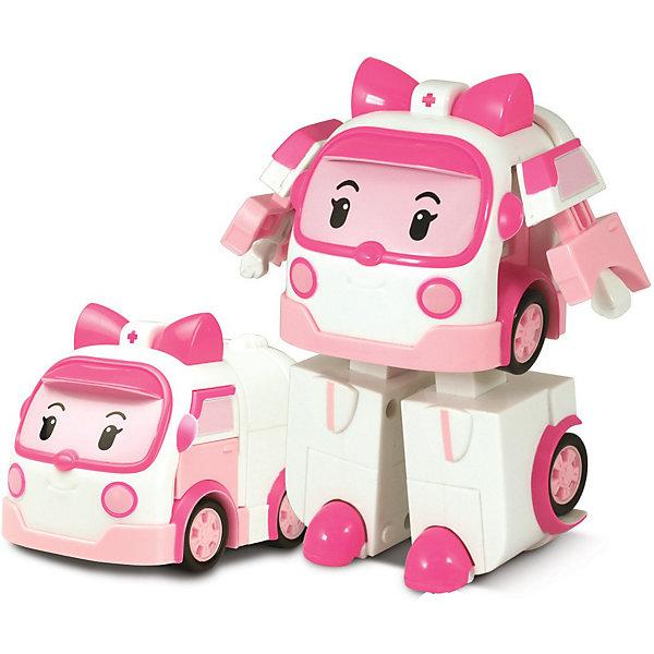 Игрушка Эмбер трансформер, Робокар ПолиИгрушки<br>Игрушка Эмбер трансформер, Робокар Поли (Robocar Poli) - машинка-трансформер, красотка Эмбер из полюбившегося мультсериала «Робокар Полли и его друзья»<br>Она живет в удивительном городке Брумстаун, где все машинки умеют говорить! <br>Эмбер (Amber) очень добрая и готова в любую минуту оказать медицинскую помощь попавшему в беду жителю города!<br>Сюжетно-ролевые игры с использованием машинок-трансформеров от компании Silverlit способствуют развитию воображения и пространственного мышления, мелкой моторики рук вашего ребенка, формируют грамотную речь.<br><br>Дополнительная информация:<br><br>- Машина путем ручного трансформирования легко превращается в человечка.<br>- Материал: пластик.<br>- Размер коробки (длн-шрн-вст): 13 х 13 х 17.1 см.<br>- Размер игрушки: 10 см.<br>- Игрушка выполнена из высококачественного пластика.<br>- Вес: 0.275 кг<br><br>Игрушку Эмбер трансформер, Робокар Поли (Robocar Poli) можно купить в нашем магазине.<br>Ширина мм: 330; Глубина мм: 360; Высота мм: 180; Вес г: 275; Возраст от месяцев: 36; Возраст до месяцев: 84; Пол: Женский; Возраст: Детский; SKU: 3439335;