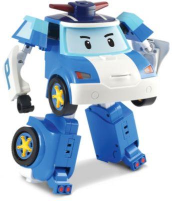 Silverlit Игрушка Робот трансформер Поли , р/у, 31 см, Робокар Поли