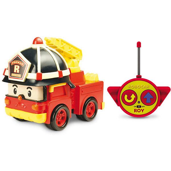 Игрушка Рой на радиоуправлении, 15см, Робокар ПолиРадиоуправляемые машины<br>Игрушка Рой на радиоуправлении, 15см, Робокар Поли (Robocar Poli) - радиоуправляемая машинка-спасатель, пожарная машина-робот Рой из полюбившегося мультсериала «Робокар Полли и его друзья» . <br>Рой живет в удивительном городке Брумстаун, где все машинки умеют говорить! <br>Рой необыкновенно добрый малый  и как только слышит сигнал о пожаре, готов в любую минуту броситься на помощь попавшему в беду жителю города!<br>Сюжетно-ролевые игры с использованием радиоуправляемых машинок от компании Silverlit способствуют развитию воображения и пространственного мышления, мелкой моторики рук вашего ребенка, формируют грамотную речь.<br><br>Дополнительная информация:<br><br>- высота игрушки 15 см<br>- размер упаковки: 0,26х0,14х0,15м<br>- вес: 0,5 кг.<br>- машина-спасатель приводится в движение при помощи пульта дистанционного управления с удобными крупными кнопками (вперед и разворот).<br>- пожарный кран у машины подвижный.<br>- комплект: игрушка, пульт дистанционного управления.<br>- тип батареек: 3 х АА, 1 х 9V тип Крона (не входят в комплект).<br>- игрушка выполнена из высококачественного пластика. <br><br>Игрушку  Рой на радиоуправлении, 15см, Робокар Поли (Robocar Poli) можно купить в нашем магазине.<br>Ширина мм: 260; Глубина мм: 150; Высота мм: 140; Вес г: 500; Возраст от месяцев: 36; Возраст до месяцев: 84; Пол: Мужской; Возраст: Детский; SKU: 3439337;