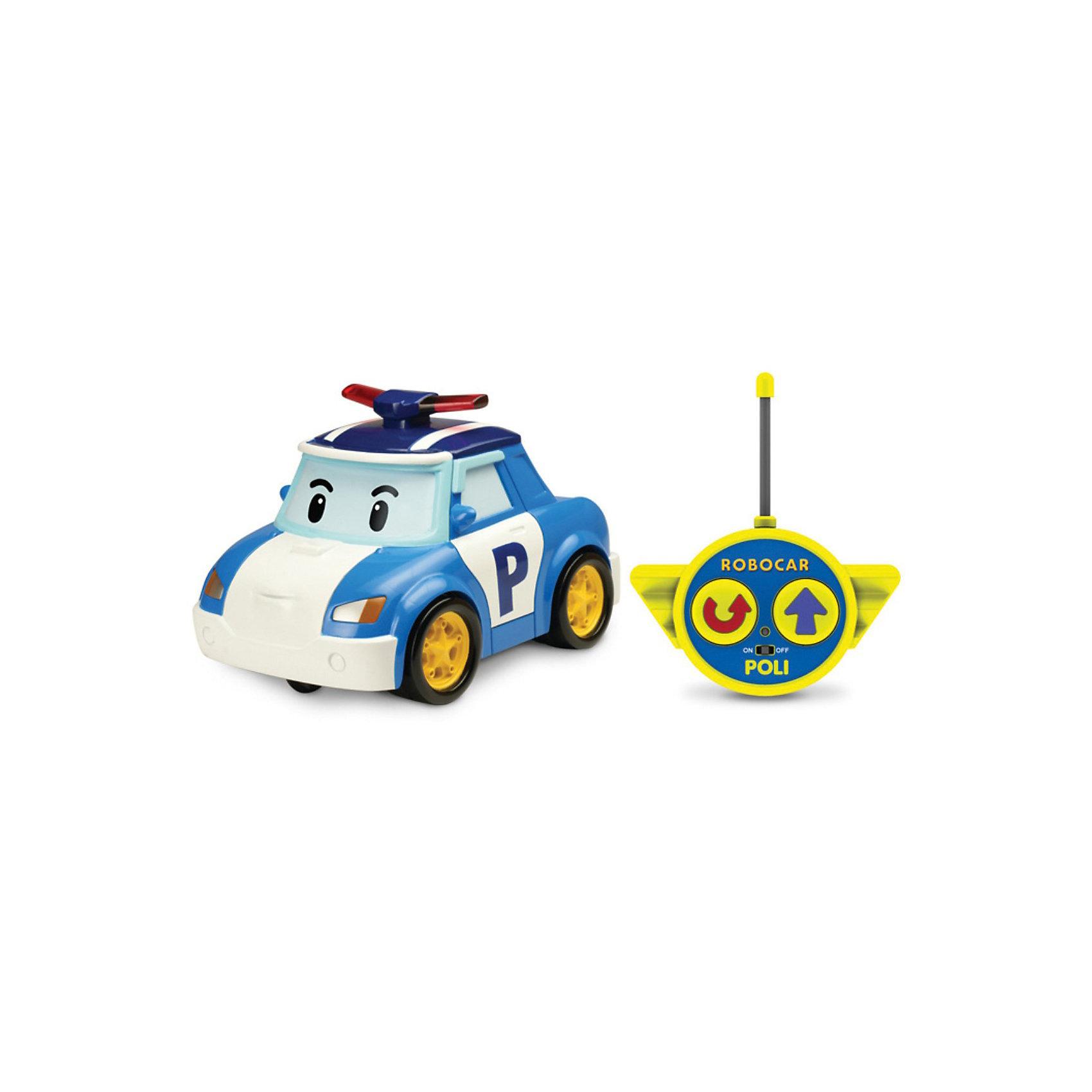Silverlit Игрушка Поли на радиоуправлении, 15см, Робокар Поли игрушка на радиоуправлении