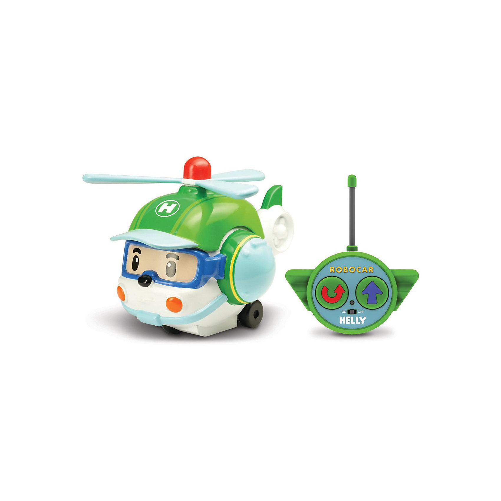 Silverlit Игрушка Хэли на радиоуправлении, 15см, Робокар Поли игрушка на радиоуправлении
