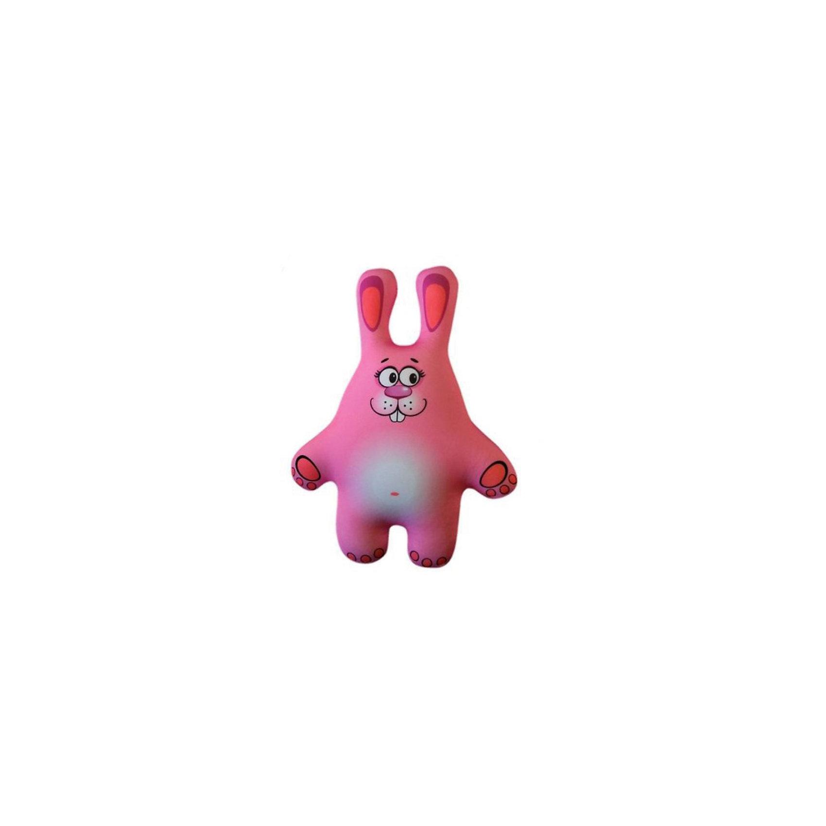 Игрушка-антистресс Зайчонок, СмолТойсЗайчонок -антистресс (игрушка-подушка)-это мягкая игрушка со специальным наполнителем, розового цвета. Внешний материал - гладкий, эластичный и прочный трикотаж. Наполнитель: гранулы полистирола - крохотные шарики диаметром меньше миллиметра.<br><br> Дополнительная информация:<br><br>- материал: текстиль <br>- размер: 41 см. (высота)<br>- размер упаковки: 27x38x10 см. <br>- цвет: розовый<br><br>Подушку-игрушку  антистресс  Зайчонок  можно купить в нашем интернет-магазине<br><br>Ширина мм: 410<br>Глубина мм: 70<br>Высота мм: 280<br>Вес г: 100<br>Возраст от месяцев: 36<br>Возраст до месяцев: 144<br>Пол: Унисекс<br>Возраст: Детский<br>SKU: 3440330