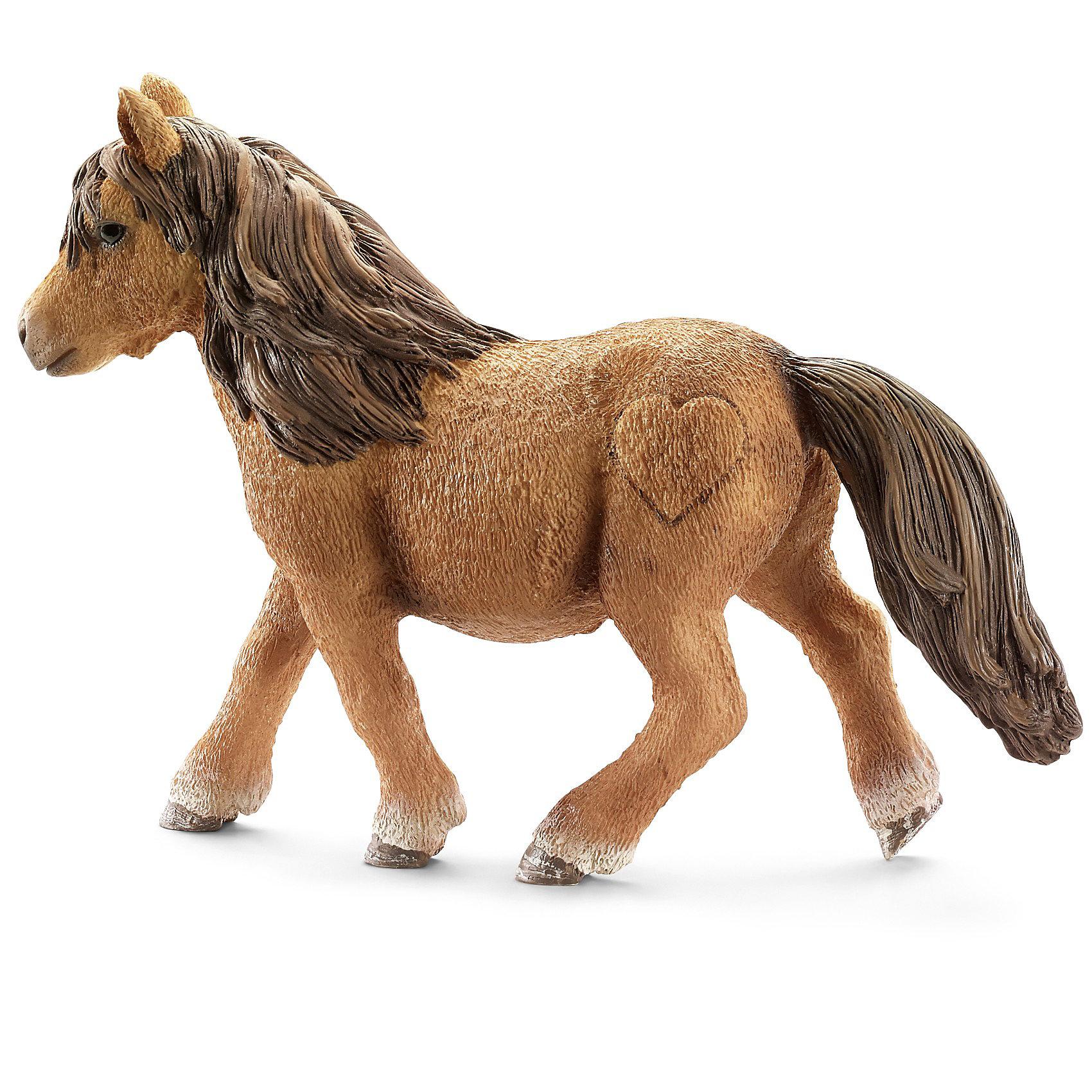 Шотландский пони, SchleichМир животных<br>Шотландский пони, Schleich (Шляйх) - коллекционная и игровая фигурка от немецкого производителя Schleich (Шляйх).<br>Фигурка очаровательного шотландского пони разнообразит игру вашего ребенка и станет прекрасным пополнением коллекции его фигурок лошадей. Шотландские пони очень выносливы и могут жить в суровых климатических условиях. Эту породу используют давно в сельском хозяйстве и в горнодобывающей промышленности. Сегодня эта порода лошадей используется для тренировок с детьми и взрослыми, они очень дружелюбны и приветливы. Все фигурки Schleich (Шляйх) сделаны из гипоаллергенных высокотехнологичных материалов, раскрашены вручную и не вызывают аллергии у ребенка. Прекрасно выполненные фигурки Schleich (Шляйх) отличаются высочайшим качеством игрушек ручной работы. Все они создаются при постоянном сотрудничестве с Берлинским зоопарком, а потому, являются максимально точной копией настоящих животных. Каждая фигурка разработана с учетом исследований в области педагогики и производится как настоящее произведение для маленьких детских ручек.<br><br>Дополнительная информация:<br><br>-Размер фигурки: 2,5 x 9,9 x 7,1 см.<br>-Вес фигурки: 59 грамм<br>-Материал: каучуковый пластик<br><br>Шотландский пони, Schleich (Шляйх) - ваш ребенок будет наслаждаться игрой с новой восхитительной фигуркой.<br><br>Фигурку Шотландского пони, Schleich (Шляйх) можно купить в нашем интернет-магазине.<br><br>Ширина мм: 100<br>Глубина мм: 101<br>Высота мм: 22<br>Вес г: 55<br>Возраст от месяцев: 36<br>Возраст до месяцев: 96<br>Пол: Женский<br>Возраст: Детский<br>SKU: 3443120