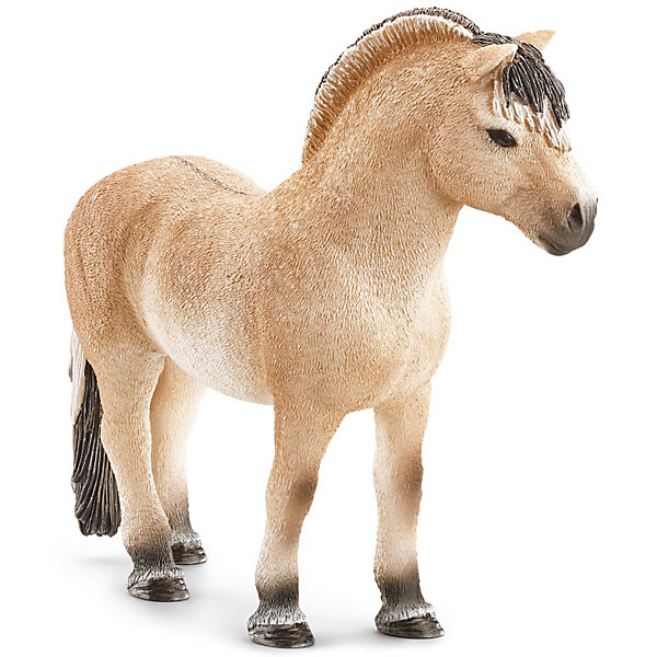 Фиордская лошадь: жеребец, SchleichМир животных<br>Фиордская лошадь: жеребец, Schleich (Шляйх) - коллекционная и игровая фигурка от немецкого производителя Schleich (Шляйх).<br>Великолепная фигурка Фиордской лошади разнообразит игру вашего ребенка и станет достойным пополнением его коллекции фигурок от Schleich (Шляйх). Фиордская порода лошадей отличаются небольшим размером, при этом это очень сильные и мощные лошади с широкой шеей и невысокими ногами. Фиордская порода лошадей очень похожа на дикий лошадей Восточной Европы и Азии. Их превосходную гриву подрезают таким образом, чтобы она стояла вертикально и проходила вдоль всей спины до самого хвоста. Сейчас эти лошади используются для соревнований. Все фигурки Schleich (Шляйх) сделаны из гипоаллергенных высокотехнологичных материалов, раскрашены вручную и не вызывают аллергии у ребенка. Прекрасно выполненные фигурки Schleich (Шляйх) отличаются высочайшим качеством игрушек ручной работы. Все они создаются при постоянном сотрудничестве с Берлинским зоопарком, а потому, являются максимально точной копией настоящих животных. Каждая фигурка разработана с учетом исследований в области педагогики и производится как настоящее произведение для маленьких детских ручек.<br><br>Дополнительная информация:<br><br>-Размер фигурки: 3,6 x 11,4 x 9,9 см.<br>-Вес фигурки: 100 грамм<br>-Материал: каучуковый пластик<br><br>Фиордская лошадь: жеребец, Schleich (Шляйх) - ваш ребенок будет наслаждаться игрой с новой восхитительной игрушкой.<br><br>Фигурку Фиордской лошади: жеребца, Schleich (Шляйх) можно купить в нашем интернет-магазине.<br><br>Ширина мм: 141<br>Глубина мм: 106<br>Высота мм: 40<br>Вес г: 110<br>Возраст от месяцев: 36<br>Возраст до месяцев: 96<br>Пол: Женский<br>Возраст: Детский<br>SKU: 3443123