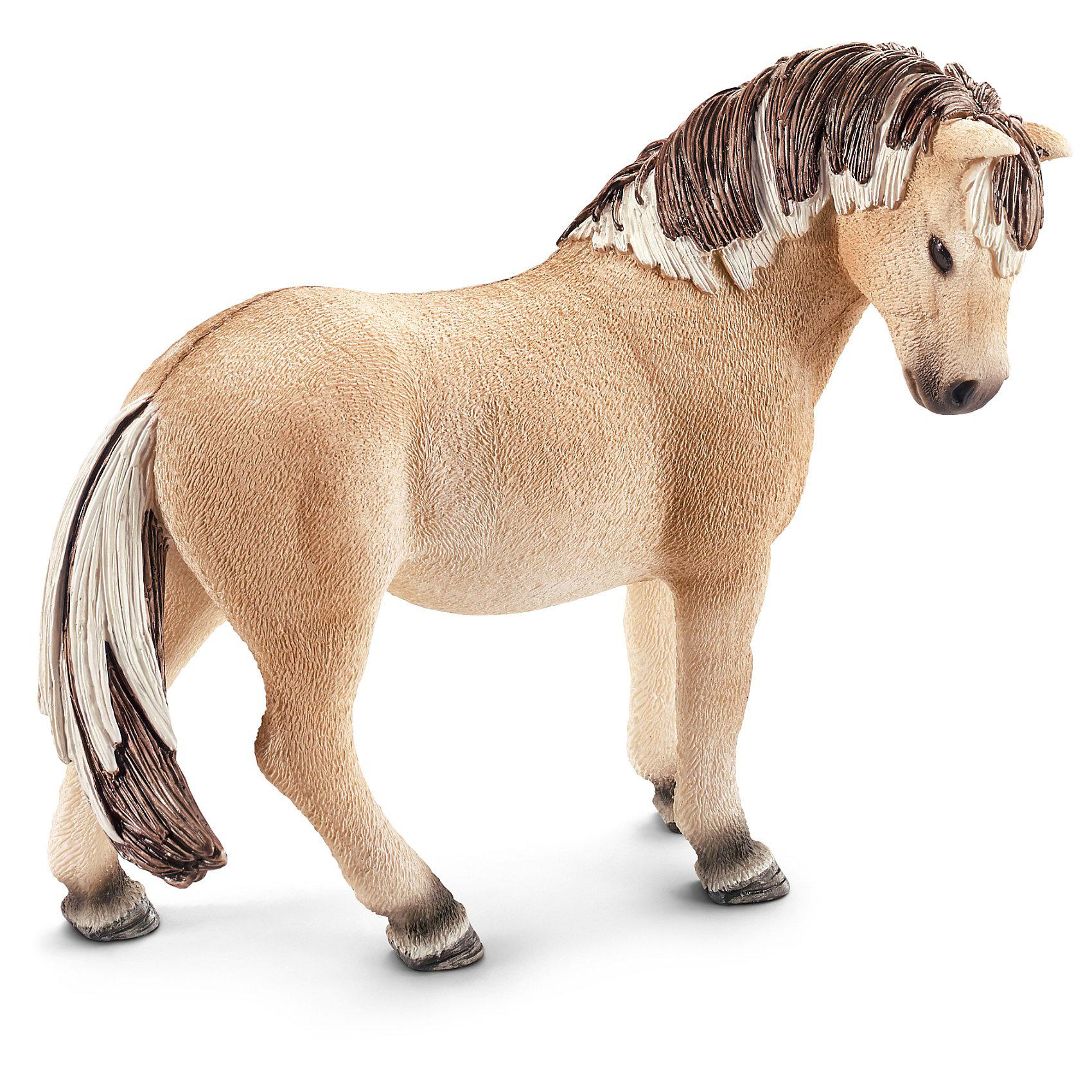 Фиордская лошадь: кобыла, SchleichМир животных<br>Фиордская лошадь: кобыла, Schleich (Шляйх) - коллекционная и игровая фигурка от немецкого производителя Schleich (Шляйх).<br>Великолепная фигурка Фиордской лошади разнообразит игру вашего ребенка и станет достойным пополнением его коллекции фигурок от Schleich (Шляйх). Фиордская порода лошадей отличаются небольшим размером, при этом это очень сильные и мощные лошади с широкой шеей и невысокими ногами. Фиордская порода лошадей очень похожа на дикий лошадей Восточной Европы и Азии. Их превосходную гриву подрезают таким образом, чтобы она стояла вертикально и проходила вдоль всей спины до самого хвоста. Сейчас эти лошади используются для соревнований. Все фигурки Schleich (Шляйх) сделаны из гипоаллергенных высокотехнологичных материалов, раскрашены вручную и не вызывают аллергии у ребенка. Прекрасно выполненные фигурки Schleich (Шляйх) отличаются высочайшим качеством игрушек ручной работы. Все они создаются при постоянном сотрудничестве с Берлинским зоопарком, а потому, являются максимально точной копией настоящих животных. Каждая фигурка разработана с учетом исследований в области педагогики и производится как настоящее произведение для маленьких детских ручек.<br><br>Дополнительная информация:<br><br>-Размер фигурки: 5,1 x 11,4 x 8,9 см.<br>-Вес фигурки: 100 грамм<br>-Материал: каучуковый пластик<br><br>Фиордская лошадь: кобыла, Schleich (Шляйх) - ваш ребенок будет наслаждаться игрой с новой восхитительной игрушкой.<br><br>Фигурку Фиордской лошади: кобылы, Schleich (Шляйх) можно купить в нашем интернет-магазине.<br><br>Ширина мм: 138<br>Глубина мм: 101<br>Высота мм: 43<br>Вес г: 124<br>Возраст от месяцев: 36<br>Возраст до месяцев: 96<br>Пол: Женский<br>Возраст: Детский<br>SKU: 3443124