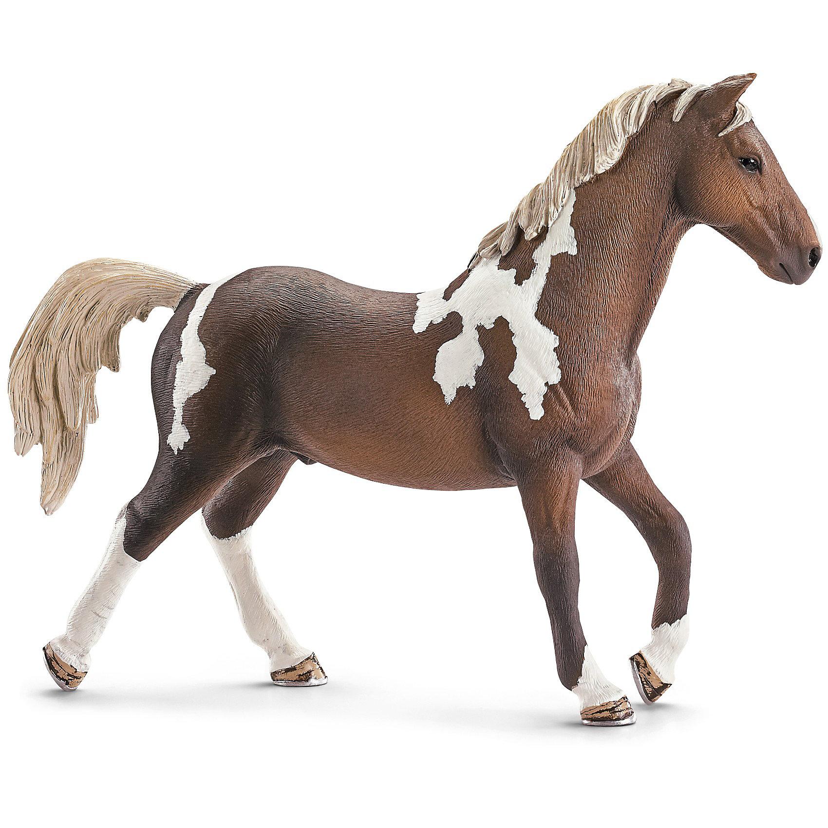 Тракененская лошадь: жеребец, SchleichМир животных<br>Тракененская лошадь: жеребец, Schleich (Шляйх) - коллекционная и игровая фигурка от немецкого производителя Schleich (Шляйх).<br>Великолепная фигурка жеребца Тракененской лошади  разнообразит игру вашего ребенка и станет достойным пополнением его коллекции фигурок от Schleich (Шляйх). Тракененская порода лошадей является чистокровной породой верховой лошади и является настоящим идеалом для современной спортивной езды. Они очень талантливы и легко поддаются дрессировке. Тракененская порода лошадей достигает в высоту 160 см и бывает самых разных расцветок. Все фигурки Schleich (Шляйх) сделаны из гипоаллергенных высокотехнологичных материалов, раскрашены вручную и не вызывают аллергии у ребенка. Прекрасно выполненные фигурки Schleich (Шляйх) отличаются высочайшим качеством игрушек ручной работы. Все они создаются при постоянном сотрудничестве с Берлинским зоопарком, а потому, являются максимально точной копией настоящих животных. Каждая фигурка разработана с учетом исследований в области педагогики и производится как настоящее произведение для маленьких детских ручек.<br><br>Дополнительная информация:<br><br>-Размер фигурки: 3,6 x 15 x 10,9 см.<br>-Вес фигурки: 136 грамм<br>-Материал: каучуковый пластик<br><br>Тракененская лошадь: жеребец, Schleich (Шляйх) - ваш ребенок будет наслаждаться игрой с новой восхитительной игрушкой.<br><br>Фигурку Тракененской лошади: жеребца, Schleich (Шляйх) можно купить в нашем интернет-магазине.<br><br>Ширина мм: 162<br>Глубина мм: 132<br>Высота мм: 35<br>Вес г: 132<br>Возраст от месяцев: 36<br>Возраст до месяцев: 96<br>Пол: Женский<br>Возраст: Детский<br>SKU: 3443126