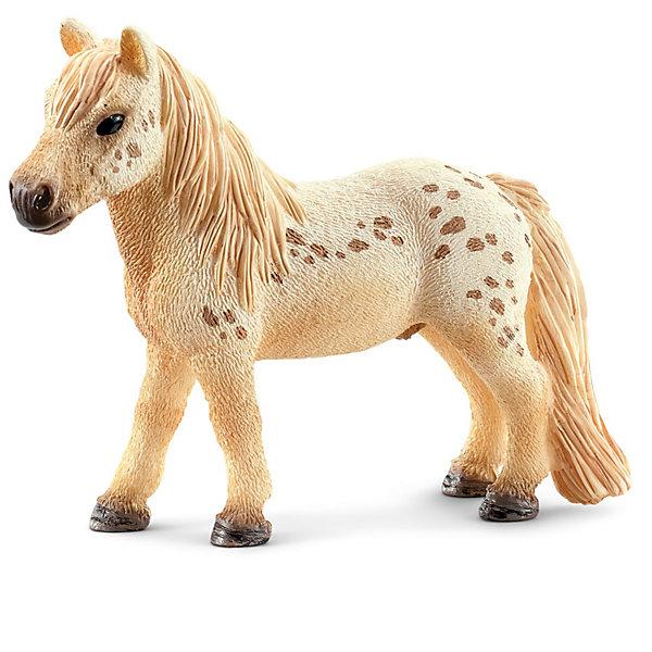 Лошадь Фалабелла, SchleichМир животных<br>Лошадь Фалабелла, Schleich (Шляйх) - коллекционная и игровая фигурка от немецкого производителя Schleich (Шляйх).<br>Очаровательная фигурка небольшой пятнистой лошади породы Фалабелла  непременно понравиться  вашему ребенку и станет достойным пополнением его коллекции фигурок от Schleich (Шляйх). Лошади Фалабелла являются одними из самых миниатюрных лошадей южноамериканский пород и названы в честь одного из своих заводчиков. При рождении эти лошади составляют всего 20 см в высоту и уже за последующие 2 года достигают своего максимального размера. Эти небольшие лошади имеют превосходную блестящую шерсть и сейчас широко используются для дрессировки в цирках и занятий с детьми. Все фигурки Schleich (Шляйх) сделаны из гипоаллергенных высокотехнологичных материалов, раскрашены вручную и не вызывают аллергии у ребенка. Прекрасно выполненные фигурки Schleich (Шляйх) отличаются высочайшим качеством игрушек ручной работы. Все они создаются при постоянном сотрудничестве с Берлинским зоопарком, а потому, являются максимально точной копией настоящих животных. Каждая фигурка разработана с учетом исследований в области педагогики и производится как настоящее произведение для маленьких детских ручек.<br><br>Дополнительная информация:<br><br>-Размер фигурки: 2,5 x 7,6 x 6,1 см.<br>-Вес фигурки: 9 грамм<br>-Материал: каучуковый пластик<br><br>Лошадь Фалабелла, Schleich (Шляйх) - ваш ребенок будет наслаждаться игрой с новой восхитительной игрушкой.<br><br>Фигурку Лошади Фалабелла, Schleich (Шляйх) можно купить в нашем интернет-магазине.<br><br>Ширина мм: 117<br>Глубина мм: 98<br>Высота мм: 22<br>Вес г: 28<br>Возраст от месяцев: 36<br>Возраст до месяцев: 96<br>Пол: Женский<br>Возраст: Детский<br>SKU: 3443129