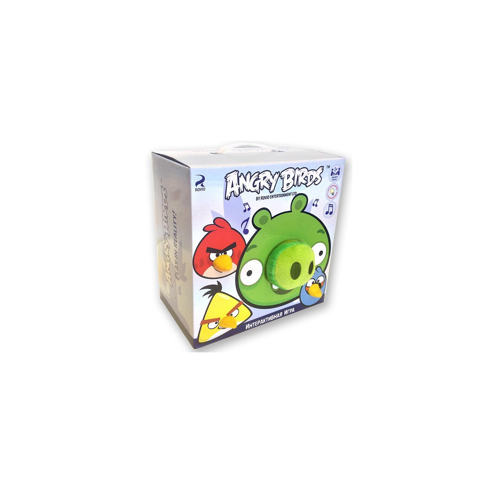 - Интерактивная игра Свинка с 3 птичками, Angry Birds интерактивная игра свинка с 3 птичками angry birds