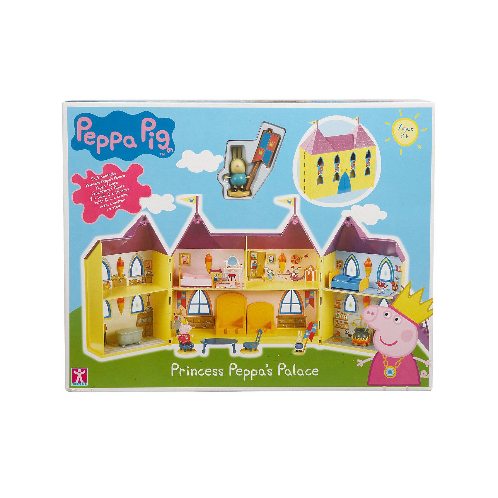 Росмэн Игровой набор Замок Пеппы, Свинка Пеппа origami пазл замок 160 деталей свинка пеппа