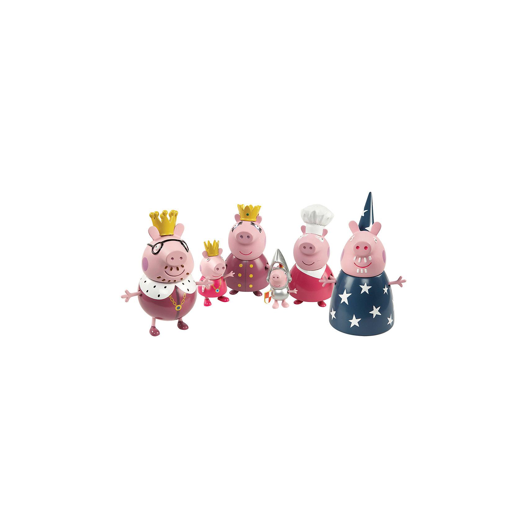 Росмэн Игровой набор Королевская семья, Свинка Пеппа мультиварка polaris pmc 0559d 860вт кофе
