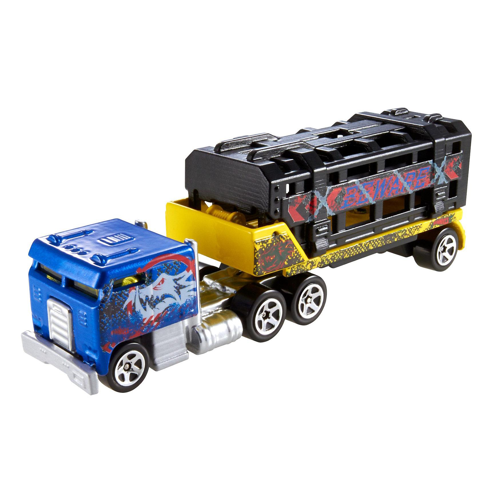 Трейлеры базовой коллекции в ассортименте, Hot WheelsИгрушки<br>«Трейлеры» базовой комплектации в ассортименте, Hot Wheels (Хот Вилс) – потрясающе реалистичные грузовики-трейлеры, которые придутся по душе любому мальчишке.<br><br>Трейлеры выполнены из металла, а значит смогут выдержать любые испытания, которые приготовит для них Ваш ребенок. В трейлерах-грузовиках Hot Wheels (Хот Вилс) есть возможность менять прицепы, что позволяет каждый раз создавать новые комбинации.<br><br>Дополнительная информация:<br><br>- ВНИМАНИЕ: Данный артикул имеется в наличии в разных вариантах исполнения (заранее выбрать невозможно). При заказе нескольких игрушек возможно получение одинаковых<br>- Материал: пластик<br>- Длина: около 28 см<br><br>«Трейлеры» базовой комплектации в ассортименте, Hot Wheels (Хот Вилс) – прекрасный подарок для Вашего ребенка. Ему непременно захочется собрать всю коллекцию и каждый раз создавать новый вид трейлеров.<br><br>«Трейлеры» базовой комплектации в ассортименте, Hot Wheels (Хот Вилс) можно купить в нашем магазине.<br><br>Ширина мм: 203<br>Глубина мм: 167<br>Высота мм: 40<br>Вес г: 121<br>Возраст от месяцев: 48<br>Возраст до месяцев: 96<br>Пол: Мужской<br>Возраст: Детский<br>SKU: 3475295