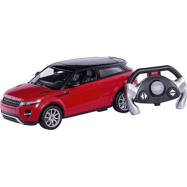 Машина RANGE ROVER EVOQUE, свет, на р/у, RASTARРадиоуправляемые машины<br>Range Rover Evoque - превосходный подарок для детей и взрослых любителей Range Rover Evoque, выполненный в масштабе 1:14<br>Автомобиль может двигаться вперед, назад, влево, вправо со скоростью до 7 км/час. Передние фары и задние фонари, которыми оснащена игрушка, загораются при движении.<br>Дальность управления игрушкой -  15-45 метров<br><br>Игрушечные машинки – незаменимый спутник роста и развития мальчиков!<br><br>Дополнительная информация:<br><br>- Пульт радиоуправления на частоте 27MHz.<br>- Материал: высококачественная пластмасса<br>- Размеры упаковки(ДхШхВ): 23 x 44 x 18 см<br>- Размер игрушки(ДхШхВ): 16,7 х 35,2 х 13,5 см.<br>- Батарейки: 5 х АА, 1 х «Крона», в комплект не входят.<br>- Вес: 1,52 кг<br>ВНИМАНИЕ! Цвет данной игрушки представлен в ассортименте (красный, белый, черный). К сожалению, предварительный выбор определенного цвета невозможен. При заказе нескольких единиц товара возможно получение одинаковых.<br><br>Машину RANGE ROVER EVOQUE, свет, на р/у, RASTAR можно купить в нашем интернет-магазине.<br>Ширина мм: 230; Глубина мм: 440; Высота мм: 180; Вес г: 1520; Возраст от месяцев: 36; Возраст до месяцев: 1188; Пол: Мужской; Возраст: Детский; SKU: 3482933;