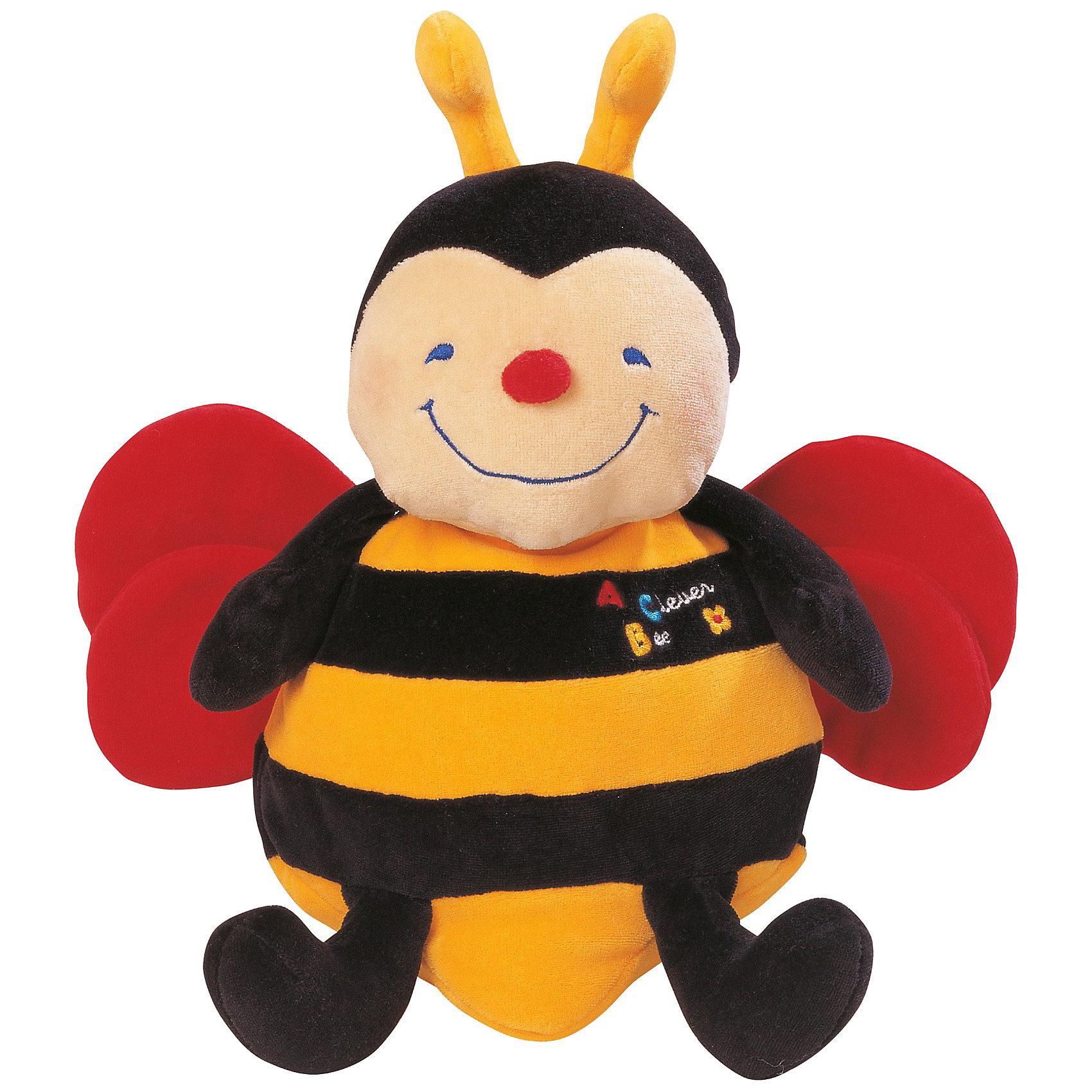 Игрушка Пчела музыкальная, Ks KidsИгрушка Пчела музыкальная, K's Kids – мягкая жизнерадостная пчелка, которая может петь и хихикать.<br><br>У пчелки шуршащие крылышки, мягкие ножки, а в ручках и хвостике находится сыпучий наполнитель, который так полезно перебирать маленькими пальчиками. Если малыш нажмет на животик пчелки или обнимет ее, она споет ему веселую песенку или будет хихикать от удовольствия. <br><br>Дополнительная информация:<br><br>- Размер: 20х26х14 см<br>- Материал: текстиль, плюш с набивкой синтетическим волокном<br><br>Игрушка Пчела музыкальная, K's Kids станет лучшим другом Вашего малыша и будет поднимать ему настроение. Игрушка стимулирует умственное и эмоциональное развитие малыша.<br><br>Игрушку Пчела музыкальная, K's Kids можно купить в нашем магазине.<br><br>Ширина мм: 280<br>Глубина мм: 97<br>Высота мм: 280<br>Вес г: 525<br>Возраст от месяцев: 6<br>Возраст до месяцев: 36<br>Пол: Унисекс<br>Возраст: Детский<br>SKU: 3498137