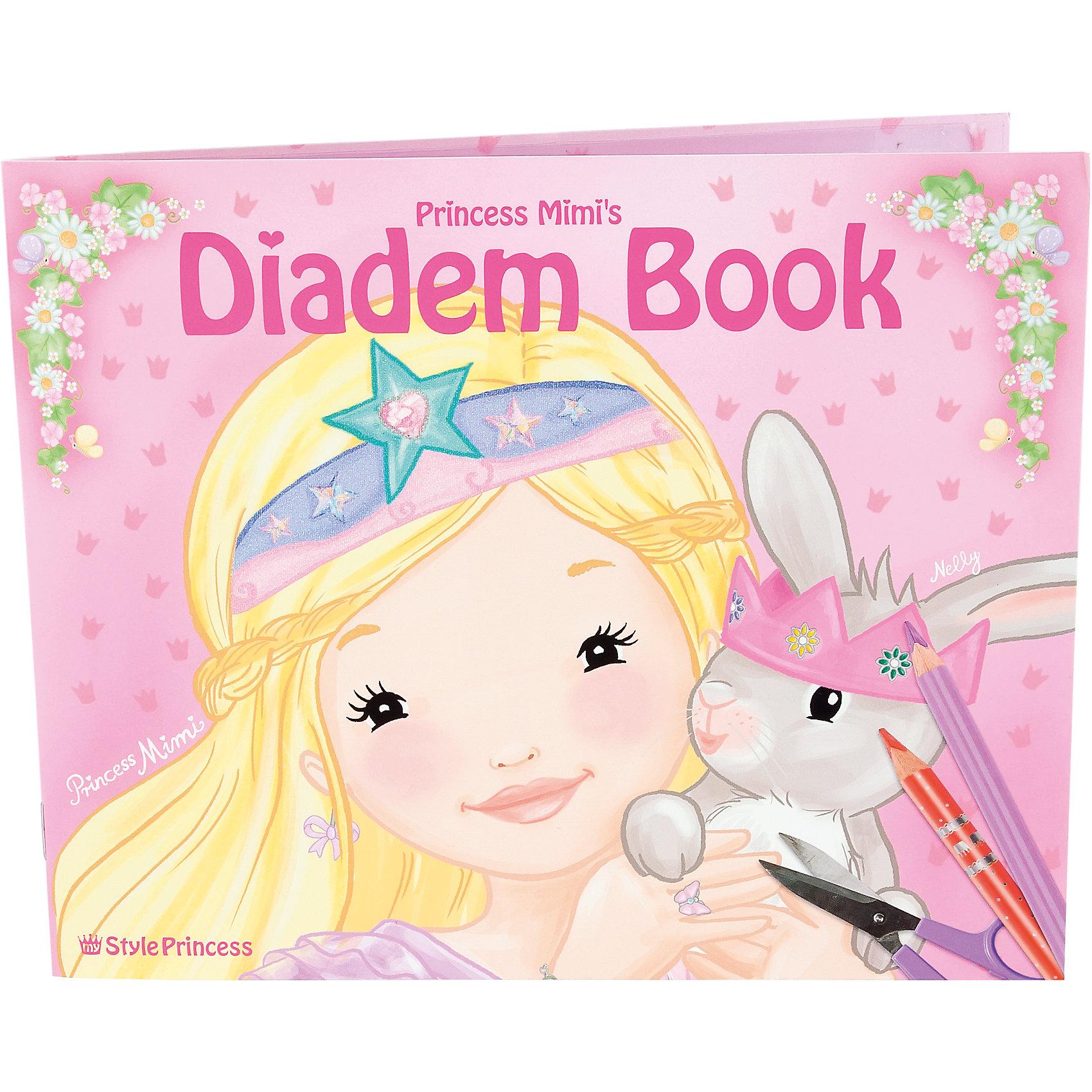 Раскраска Diadem, My Style PrincessРисование<br>Раскраска Diadem, My Style Princess<br><br>Характеристики:<br><br>• В комплекте: 8 диадем, 8 резиночек<br>• Размер: Размер 22,2х18 см<br><br>Этот альбом-раскраска из серии TOPModel позволит вашему ребенку почувствовать себя настоящим дизайнером-стилистом и окунуться в мир моды. Ребенок сможет не только нарисовать личный дизайн диадемы, но и сделать ее собственными руками! В наборе содержится все, что пригодится для такой поделки. Это поможет ребенку развить воображение и чувство вкуса. <br><br>Раскраска Diadem, My Style Princess можно купить в нашем интернет-магазине.<br><br>Ширина мм: 220<br>Глубина мм: 180<br>Высота мм: 5<br>Вес г: 100<br>Возраст от месяцев: -2147483648<br>Возраст до месяцев: 2147483647<br>Пол: Женский<br>Возраст: Детский<br>SKU: 3498481