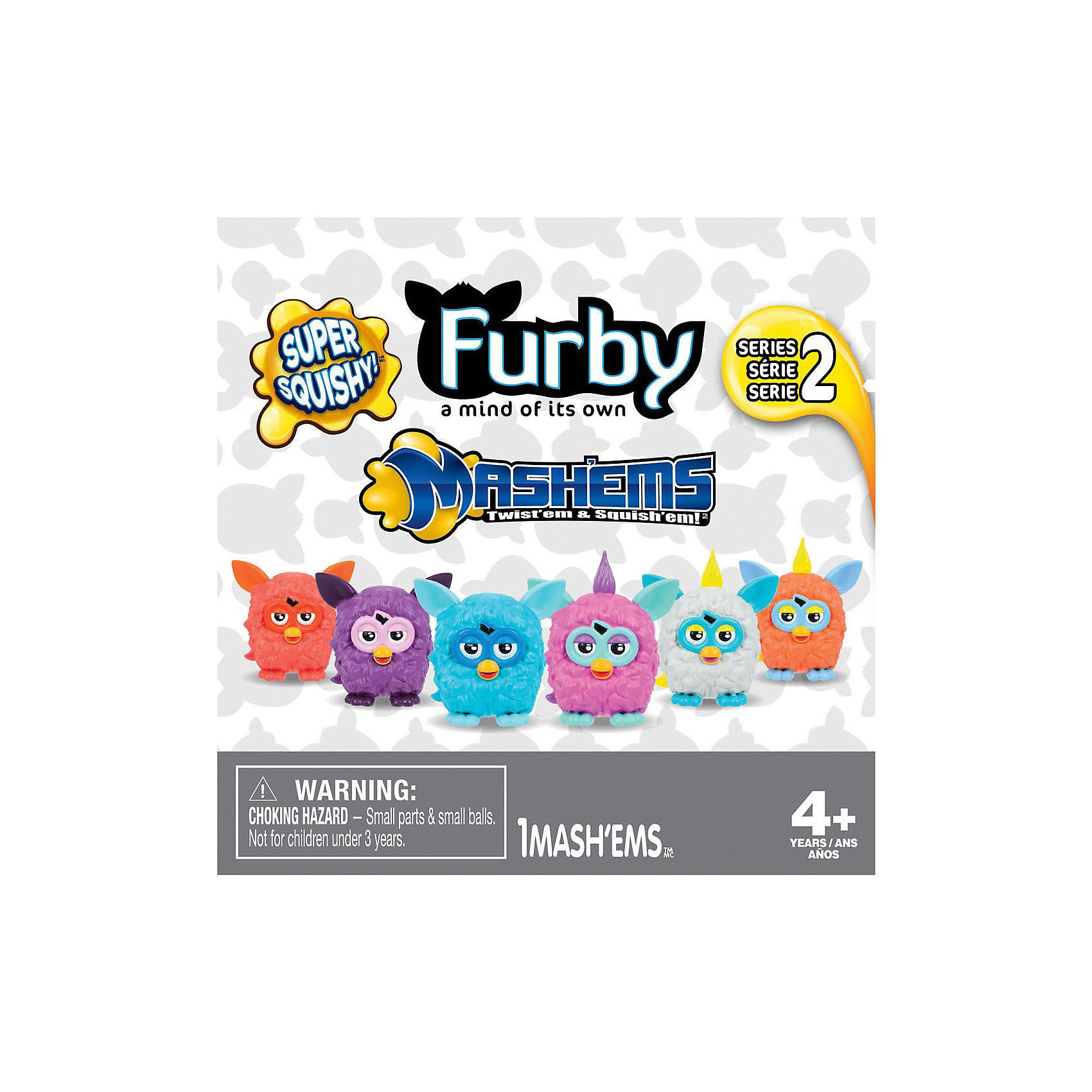 Игрушка-мялка Furby (Ферби),  в ассорт.Замечательная яркая игрушка-мялка Furby (Ферби) развлечет и успокоит Вашего малыша. Игрушка сделана в виде забавного милого существа Ферби из термопластичной резины и наполнена водой.<br><br>Материал игрушки очень крепкий и прочный, мялку можно сильно сжимать, кидать, крутить, и даже кидать ими в стену, с игрушкой ничего не случится. При ударе или сжатии игрушка-мялка расплющится, а потом опять вернется в первоначальное состояние.<br><br>Антистрессовую игрушку-мялку очень приятно держать в руках, способствует развитию у ребенка мелкой моторики, с ней также можно играть в ванной. <br><br>Дополнительная информация:<br><br>- Материал: термопластичная резина, вода.<br>- Размер игрушки: 5 см.<br>- Вес: 43 гр.<br><br>Игрушку-мялку от Ферби можно купить в нашем интернет-магазине.<br><br>ВНИМАНИЕ! Данный артикул имеется в наличии в разных цветовых исполнениях. К сожалению, заранее выбрать определенный цвет не возможно.<br><br>Ширина мм: 38<br>Глубина мм: 105<br>Высота мм: 115<br>Вес г: 43<br>Возраст от месяцев: 48<br>Возраст до месяцев: 144<br>Пол: Унисекс<br>Возраст: Детский<br>SKU: 3499555