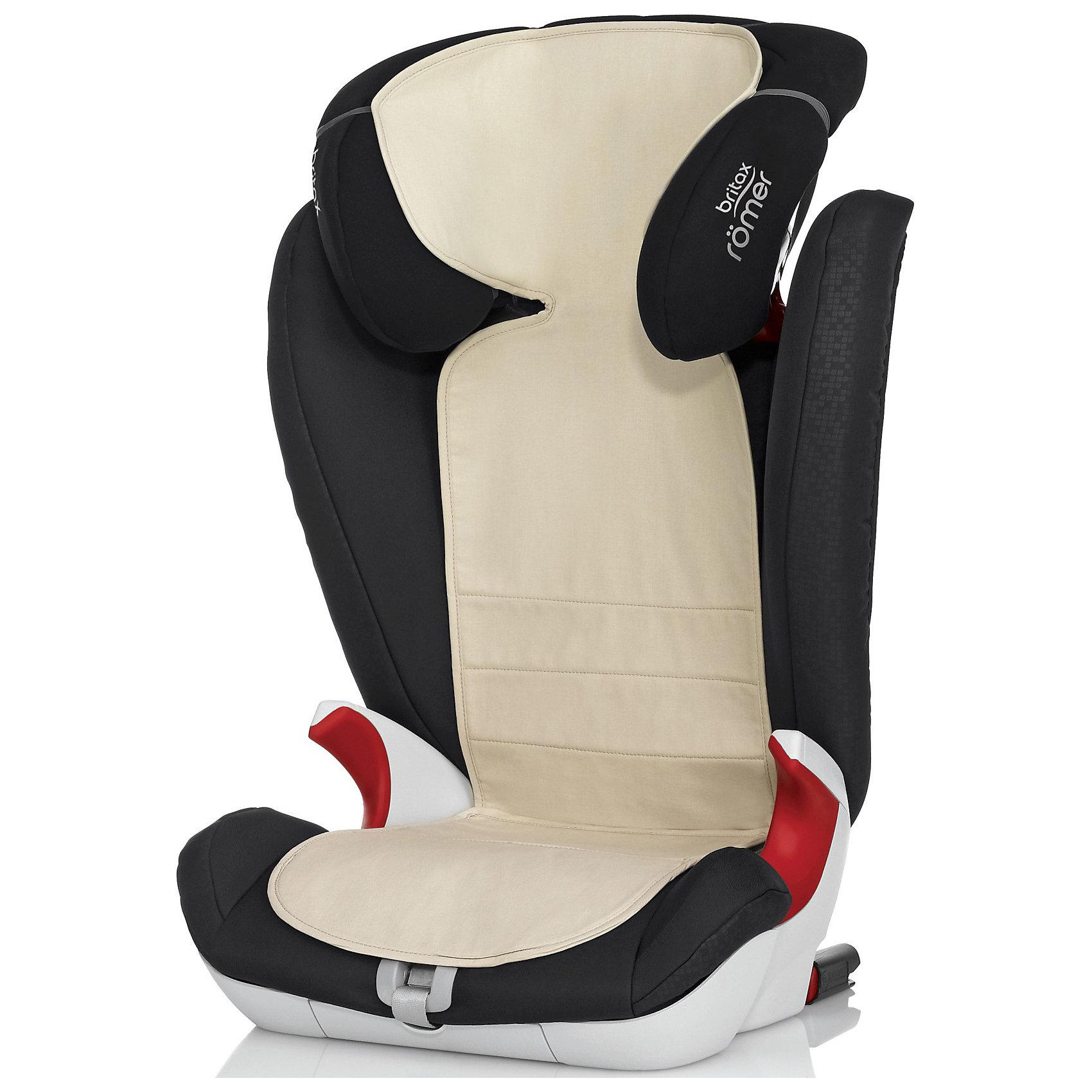 Чехол для детского автомобильного сидения KEEP COOL группа 1,1-2-3, 2-3, Britax R?merМатериал OUTLAST содержит микрогранулы с веществом схожим по свойствам с парафином. Нагреваясь, содержимое микрогранул поглощает излишки тепла, меняя свое состояние и поддерживая комфортную температуру тела ребенка даже в очень жаркий день.<br>Технология: Материал OUTLAST была придуман для защиты тела космонавтов от колебаний температуры в скафандре. Сегодня эта технология получила широкое распространение в обуви, одежде и медицинских изделиях. Чехол Keep Cool идеально подходит сразу для 3 групп автокресел: Группа 1, Группа 2-3, Группа 1-2-3.<br>Совместим с креслами Romer: KING Plus, VERSAFIX,KING II LS, KING II ATS, KING II , TRIFIX, EVOLVA 123 Plus, KIDFIX, KIDFIX XP SICT,  KIDFIX XP, KIDFIX SL, KIDFIX SL SICT, KID II<br><br>Ширина мм: 260<br>Глубина мм: 380<br>Высота мм: 35<br>Вес г: 272<br>Возраст от месяцев: 0<br>Возраст до месяцев: 144<br>Пол: Унисекс<br>Возраст: Детский<br>SKU: 3500172