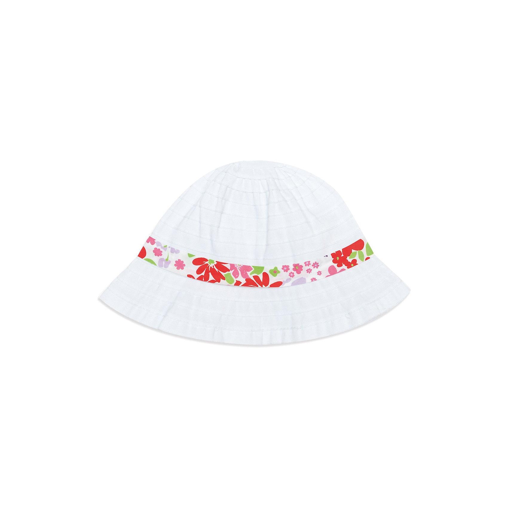 Шляпа  PlayTodayШляпа   от PLayToday.<br>* стильная шляпа с небольшими полями надежно защитит голову ребенка от перегревания, а глаза от попадания прямого солнечного света<br>* модель из плетеного <br>* украшена яркой трикотажной лентой и объемным цветком<br><br>Состав:<br>100% полиэстер<br><br>Шляпа   PlayToday (Плэйтудей) можно купить в нашем магазине.<br><br>Ширина мм: 89<br>Глубина мм: 117<br>Высота мм: 44<br>Вес г: 155<br>Цвет: белый<br>Возраст от месяцев: 24<br>Возраст до месяцев: 36<br>Пол: Женский<br>Возраст: Детский<br>Размер: 50,52,54<br>SKU: 3512106