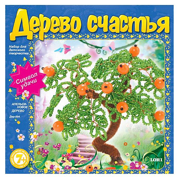 Дерево счастья Апельсиновое дерево, LORIДеревья и картины из пайеток<br>Дерево счастья Апельсиновое дерево от Lori увлекательный набор для детского творчества, который позволит который позволит маленькой рукодельнице создать необычный<br>сувенир - дерево счастья, символ любви, красоты, удачи, гармонии. Такое деревце может стать украшением интерьера или замечательным подарком, сделанным собственными<br>руками.<br><br>Дополнительная информация:<br><br>- В комплекте: бисер, акриловые бусины, пряжа, проволока, гипс, форма для подставки, инструкция.<br>- Размер упаковки: 18 х 18 х 3,5 см.<br>- Вес: 0,298 кг.<br><br>Набор способствует развитию творческих способностей ребенка, мелкой моторики  рук и усидчивости.<br><br>Набор для творчества Дерево счастья Апельсиновое дерево от Lori можно купить в нашем интернет-магазине.<br><br>Ширина мм: 180<br>Глубина мм: 180<br>Высота мм: 35<br>Вес г: 345<br>Возраст от месяцев: 84<br>Возраст до месяцев: 2147483647<br>Пол: Женский<br>Возраст: Детский<br>SKU: 3512640