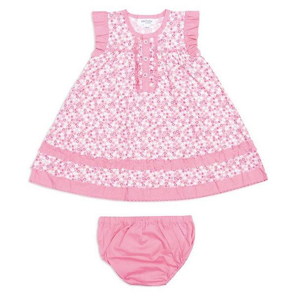 Комплект:платье+трусы для девочки PlayTodayКомплекты<br>Комплект:платье+трусы для девочки от PLayToday.<br>* яркий комплект для жаркого лета<br>* текстильный комплект состоит из платья и трусов<br>* застежка платья на пуговицы<br>* принт платья в цветочек создаст радостное настроение маленькой моднице<br>* рукава-крылышки и низ платья из комбинированного хлопка<br>* декор - рюши<br>* края трусов на внутренней резинке<br><br>Состав:<br>100% хлопок<br><br>Комплект:платье+трусы для девочки PlayToday (Плэйтудей) можно купить в нашем магазине.<br><br>Ширина мм: 236<br>Глубина мм: 16<br>Высота мм: 184<br>Вес г: 177<br>Цвет: белый<br>Возраст от месяцев: 6<br>Возраст до месяцев: 9<br>Пол: Женский<br>Возраст: Детский<br>Размер: 74,80,92,86<br>SKU: 3514135