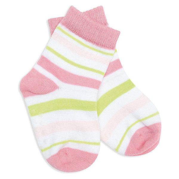 Носки для девочки PlayTodayНоски<br>Носки для девочки от PLayToday.<br>* носки в полоску для малыша возраста от 3 месяцев<br>* трикотажные носочки с противоскользящими вставками на подошве идеальны для малыша, который начинает делать свои первые шажки<br><br>Состав:<br>75% хлопок, 20% нейлон, 5% эластан<br><br>Носки для девочки PlayToday (Плэйтудей) можно купить в нашем магазине.<br>Ширина мм: 87; Глубина мм: 10; Высота мм: 105; Вес г: 115; Цвет: белый; Возраст от месяцев: 6; Возраст до месяцев: 9; Пол: Женский; Возраст: Детский; Размер: 74/80,122/128,86/92,74,98/104,110/116; SKU: 3514188;