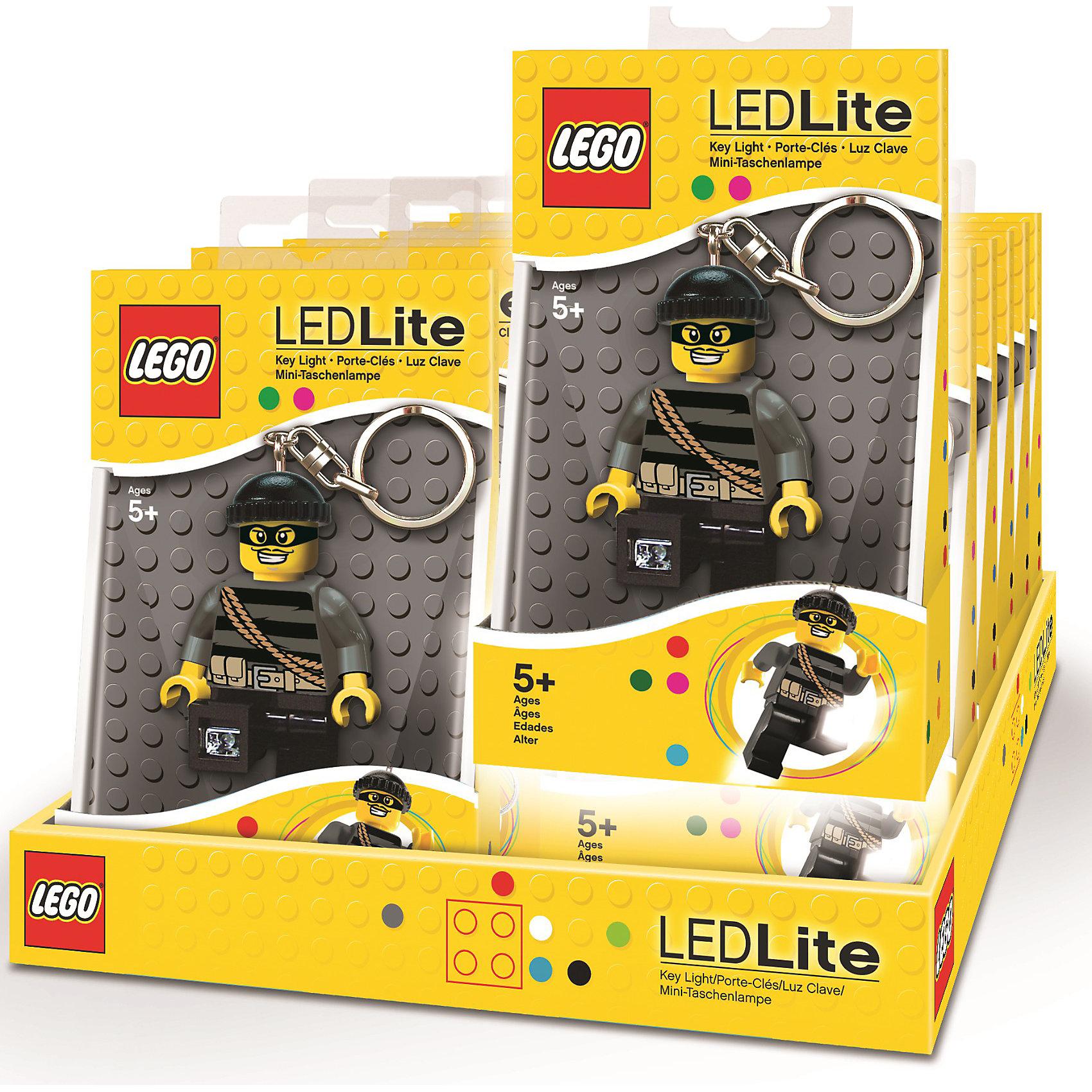 Брелок-фонарик для ключей, LEGO City — Mastermind