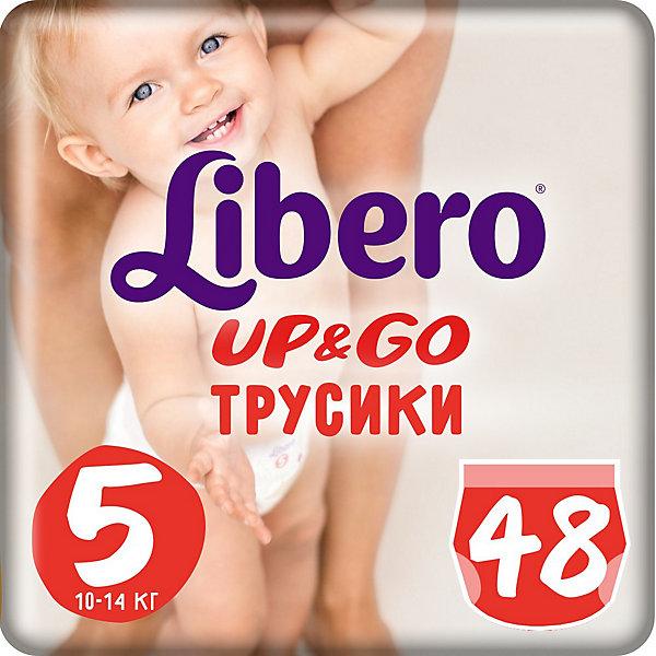 Трусики Up&Go, Mega Maxi Plus 10-14 кг (5), 48 шт., Libero