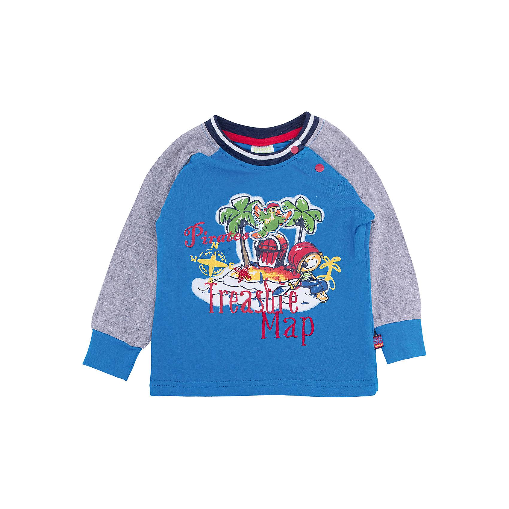 Sweet Berry Футболка с длинным рукавом для мальчика Sweet Berry футболка с длинным рукавом для мальчика barkito трактор красная