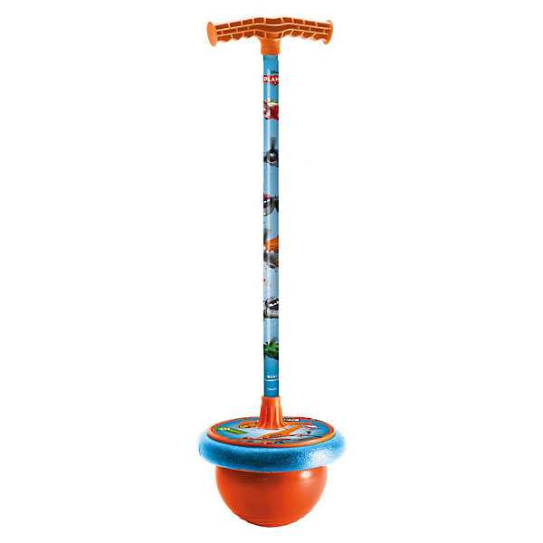 Мяч-попрыгун, СамолетыМячи детские<br>Мяч-попрыгун, Самолеты - это и великолепная игрушка, и отличный тренажер для маленьких непосед.<br>Мяч-попрыгун «Самолёты» от компании Mondo отличная игрушка для активного мальчика. Тибол украшен изображениями героев нового мультфильма «Самолёты». В основании мяча-попрыгуна прочный резиновый мяч и удобная площадка для ног. Подножка и рукоятка выполнены из прочного прорезиненного пластика с антискользящей поверхностью и металла, что обеспечивает безопасность при использовании. Возле ручки прикреплен небольшой футляр, в который можно положить какие-нибудь вещи. Ребенок проведет много веселых часов, прыгая с этой игрушкой, но самое главное это еще и полезно. Отлично развивает координацию движения и повышает общую физическую подготовку.<br><br>Дополнительная информация:<br><br>- Максимальная высота прыжка: 30 см.<br>- Максимальная нагрузка: 60 кг.<br>- Высота до рукоятки от пола: 92 см.<br>- Диаметр мяча: 22 см.<br>- Материал: резина, пластик, металл<br>- Вес: 1500 гр.<br><br>Мяч-попрыгун, Самолеты (Planes) можно купить в нашем интернет-магазине.<br>Ширина мм: 230; Глубина мм: 230; Высота мм: 950; Вес г: 1500; Возраст от месяцев: 48; Возраст до месяцев: 108; Пол: Мужской; Возраст: Детский; SKU: 3520772;