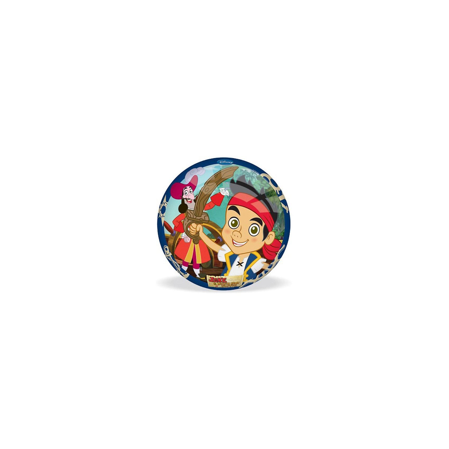 Мяч, 14 см, Джейк и Пираты Нетландии, в ассорт.Игра в мяч - одна из самых популярных у всех детей. Она прекрасно развивает координацию движения, моторику рук и ног. <br>Мяч «Джейк и Пираты Нетландии» от итальянской компании «Mondo» выполнен из резины высокого качества. <br>Мячик украшен  яркой картинкой из популярного мультфильма «Джейк и Пираты Нетландии».<br><br>Дополнительная информация:<br><br>- Диаметр мяча: 14 см<br><br>ВНИМАНИЕ: Данный артикул представлен в разных цветовых исполнениях. Заранее выбрать определенный цвет нельзя. При заказе нескольких мячей возможно получение одинаковых.<br><br>Мяч, 14 см, Джейк и Пираты Нетландии, в ассорт. можно купить в нашем магазине.<br><br>Ширина мм: 150<br>Глубина мм: 150<br>Высота мм: 150<br>Вес г: 90<br>Возраст от месяцев: 36<br>Возраст до месяцев: 1188<br>Пол: Унисекс<br>Возраст: Детский<br>SKU: 3520776
