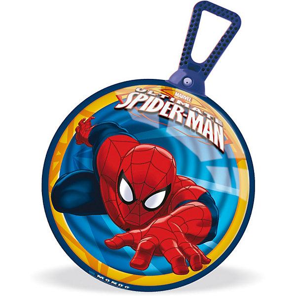 Мяч - попрыгунчик Ultimate  360°, 45 см, Человек-ПаукМячи детские<br>С таким мячом будет весело не только играть, но и заниматься лечебной физкультурой. <br>Мяч - попрыгунчик Человек-паук Ultimate  360° с удобной ручкой-петлей поможет Вашему ребенку укрепить мышцы спины, сформировать правильную осанку, развить вестибулярный аппарат. Прыгая на таком мячике, ребенку придется контролировать свое равновесие, тем самым развивая мышечный корсет и оптимизируя двигательную активность.<br><br>Дополнительная информация:<br><br>- Диаметр мяча: 45 см. <br>- Материал: высококачественная резина<br>- Имеется ручка-петля, за которую удобно держаться руками<br>- Насос в комплект не входит<br>- Мяч поставляется в сдутом состоянии<br><br>Мяч - попрыгунчик Ultimate  360°,  ? 45 см,  Человек-паук (Spider-Man) можно купить в нашем магазине.<br><br>Ширина мм: 200<br>Глубина мм: 80<br>Высота мм: 250<br>Вес г: 894<br>Возраст от месяцев: 36<br>Возраст до месяцев: 1188<br>Пол: Мужской<br>Возраст: Детский<br>SKU: 3520782