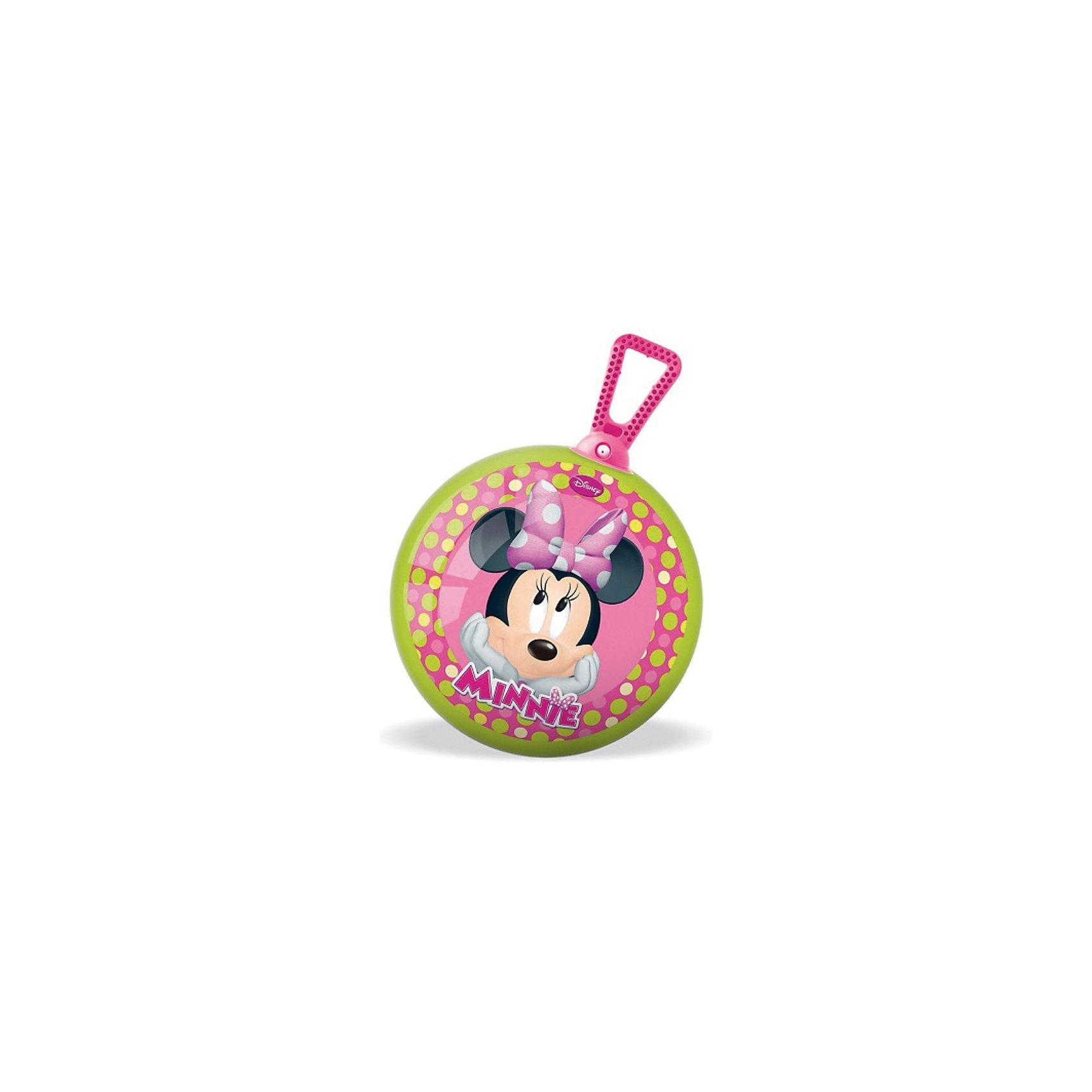 Мяч - попрыгунчик Минни , 360°,  ? 45 см, Минни МаусС таким мячом будет весело не только играть, но и заниматься лечебной физкультурой. <br><br>Мяч-попрыгунчик с удобной ручкой-петлей поможет Вашему ребенку укрепить мышцы спины, сформировать правильную осанку, развить вестибулярный аппарат. Прыгая на таком мячике, ребенку придется контролировать свое равновесие, тем самым развивая мышечный корсет и оптимизируя двигательную активность.<br><br>Дополнительная информация:<br><br>- Диаметр мяча: 45 см.<br>- Насос в комплект не входит<br>- Мяч поставляется в сдутом виде<br><br>Мяч - попрыгунчик Минни , 360°,  ? 45 см, Минни Маус можно купить в нашем магазине.<br><br>Ширина мм: 200<br>Глубина мм: 80<br>Высота мм: 250<br>Вес г: 894<br>Возраст от месяцев: 36<br>Возраст до месяцев: 1188<br>Пол: Женский<br>Возраст: Детский<br>SKU: 3520784