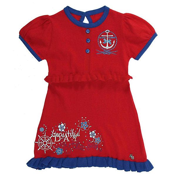 Платье для девочки Sweet BerryПлатья<br>Платье для девочки от известного бренда Sweet Berry (Свит Берри).<br>Яркое вязаное платье.<br>Удобная застежка сзади на пуговицу.<br>Украшено вышивкой и стразами.<br>На планке расположены декоративные пуговицы в тон горловины.<br>Состав: хлопок 100%<br><br>Платье вязаное для девочки Sweet Berry (Свит Берри) можно купить в нашем магазине.<br><br>Ширина мм: 236<br>Глубина мм: 16<br>Высота мм: 184<br>Вес г: 177<br>Цвет: красный<br>Возраст от месяцев: 18<br>Возраст до месяцев: 18<br>Пол: Женский<br>Возраст: Детский<br>Размер: 86,92,98,80<br>SKU: 3523208