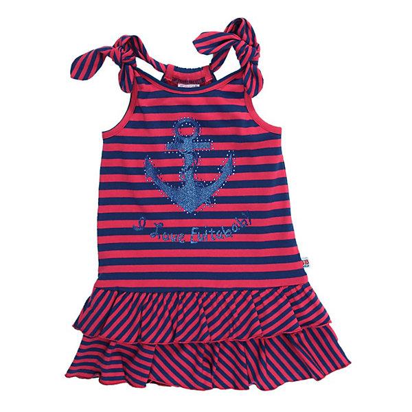 Платье для девочки Sweet BerryПлатья и сарафаны<br>Платье для девочки от известного бренда Sweet Berry (Свит Берри).<br>Летнее, яркое платье.<br>Украшено стильным принтом и стразами.<br>По низу изделия два ряда воланов.<br>Состав: хлопок 95%, эластан 5%<br><br>Платье для девочки Sweet Berry (Свит Берри) можно купить в нашем магазине.<br>Ширина мм: 236; Глубина мм: 16; Высота мм: 184; Вес г: 177; Цвет: синий/красный; Возраст от месяцев: 36; Возраст до месяцев: 36; Пол: Женский; Возраст: Детский; Размер: 98; SKU: 3523468;