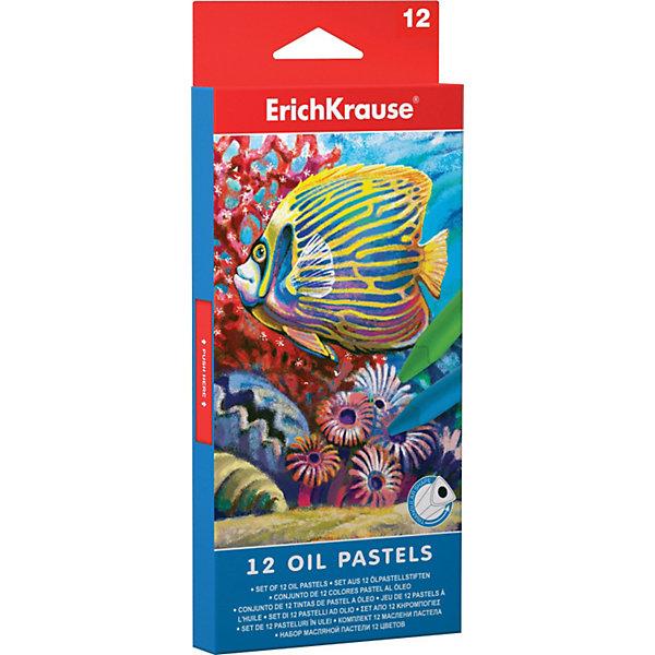 Масляная пастель, 12цв. ErichKrauseПастель Уголь<br>Набор масляной пастели 12 цветов от от Erich Krause (Эрих Краузе)  отличается яркими насыщенными цветами. Пастели мягкие, водоустойчивые  и подходят для разных техник рисования.<br><br>Дополнительная информация:<br><br>- Размеры упаковки 21 х 9 х 1,8 см<br>- Всего 12 масляных пастелей<br>- Вес 149 г.<br><br>Масляная пастель, 12цв. Erich Krause (Эрих Краузе) можно купить в нашем магазине.<br><br>Ширина мм: 210<br>Глубина мм: 90<br>Высота мм: 18<br>Вес г: 149<br>Возраст от месяцев: 36<br>Возраст до месяцев: 72<br>Пол: Унисекс<br>Возраст: Детский<br>SKU: 3525231