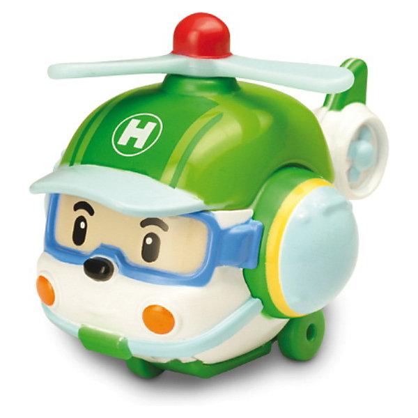 Игрушка Металлический вертолет Хэли, 6 см, Робокар ПолиСамолёты и вертолёты<br>Металлический вертолет Хэли, 6 см, Робокар Поли (Robocar Poli) персонаж супер команды спасателей мультсериала про полицейскую машинку-робота Поли и его друзей живущих в необычном городке Брумстаун, в котором машины живут наравне с людьми. Все машинки городка Брумстаун умеют говорить и у каждого героя есть свое дело. В этом городе все друг друга знают и все дружат. Именно, командная работа позволяет всем жителям городка справляться со всеми сложностями, выручать и поддерживать друг друга. <br>Мультсериал  Робокар Поли (Robocar Poli)  в игровой форме обучает детей правилам дорожного движения и подсказывает как правильно вести себя рядом с проезжей частью, будучи пешеходом. Металлический вертолет Хэли (Helly) - несомненно понравится мальчику, обожающему мультфильм  Робокар Поли (Robocar Poli)  с историями о машинках-спасателях. Малыш непременно оценит, что его коллекцию игрушечных персонажей пополнит новый герой. Благодаря прочному металлу, из которого сделана игрушка, с ней можно играть и дома,  и во дворе,  делая разные виражи и падения, и даже врезаясь в любые препятствия и преграды! <br><br>Дополнительная информация: <br><br>- игрушка отличается   небольшим размером - ее длина всего  6 см, ребенку будет удобно положить любимую игрушку в своей карман и взять с собой на прогулку;<br>- игрушка не имеет острых углов, поэтому безопасна во время активных игр ребенка;<br> - игрушка отвечает европейским стандартам качества;<br>- игрушка развивает у ребенка мелкую моторику благодаря ее небольшим размерам;<br>- стимулирует развитие координации движений во время маневрирования;<br>- способствует развитию фантазии посредством воссоздания знакомого сюжета из любимого мультсериала Робокар Поли<br>- отлично подходит для игровых наборов Робокар Поли<br>- размер игрушки - 6 см;<br>- размер упаковки: 14 х 16 х 5см;<br>- материал  игрушки - металл;<br>- вес игрушки  0,16 кг.<br><br>Металлический вертолет Х