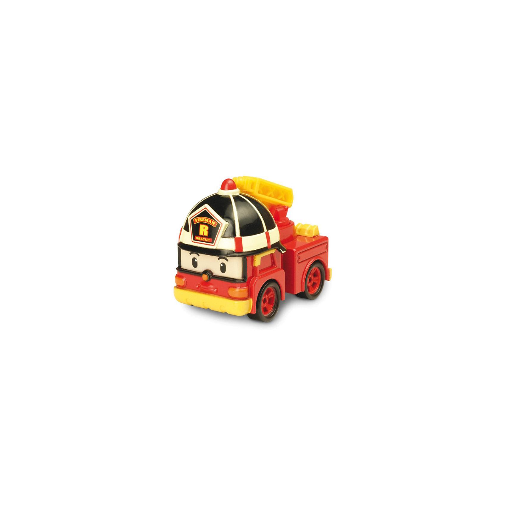 Игрушка Металлическая машинка Рой, 6 см, Робокар ПолиМеталлическая машинка Рой , 6 см, Робокар Поли (Robocar Poli) персонаж супер команды спасателей мультсериала про полицейскую машинку-робота Поли и его друзей живущих в необычном городке Брумстаун, в котором машины живут наравне с людьми. Все машинки городка Брумстаун умеют говорить и у каждого героя есть свое дело. В этом городе все друг друга знают и все дружат. Именно, командная работа позволяет всем жителям городка справляться со всеми сложностями, выручать и поддерживать друг друга. <br>Пожарная машинка Рой (металлическая) - возможность пополнить коллекцию ребенка новым автомобильчиком. Отважный Рой всегда спешит на помощь и старается предотвратить чрезвычайную ситуацию, вызванную пожаром. Игрушка полностью отображает экранный образ храброго спасателя.<br><br>Дополнительная информация: <br><br>- металлическая машинка  Рой безопасна для ребенка в возрасте от трех лет и старше: материалы, которые использовались при производстве игрушки, не вызывают у крохи аллергию и абсолютно нетоксичны;<br> - автомобиль отличается обтекаемым корпусом и полным отсутствием острых углов;<br> - машинка очень красочная, основными оттенками являются красный и желтый;<br>- на корпусе автомобиля есть специальный знак, говорящий о соответствии игрушки европейским стандартам качества;<br>-  развивает: мелкую моторику рук и мышцы пальцев, координацию движений, фантазию и умение подражать, навык игры в коллективе;<br>- размер игрушки - 6 см;<br>- размер упаковки: 14 х 16 х 5 см;<br>- материал  игрушки - металл;<br>- вес игрушки  0,18 кг.<br><br>Металлическую машинку Рой  , 6 см, Робокар Поли (Robocar Poli) <br>вы можете купить в нашем интернет-магазине.<br><br>Ширина мм: 140<br>Глубина мм: 160<br>Высота мм: 50<br>Вес г: 184<br>Возраст от месяцев: 36<br>Возраст до месяцев: 84<br>Пол: Мужской<br>Возраст: Детский<br>SKU: 3526763