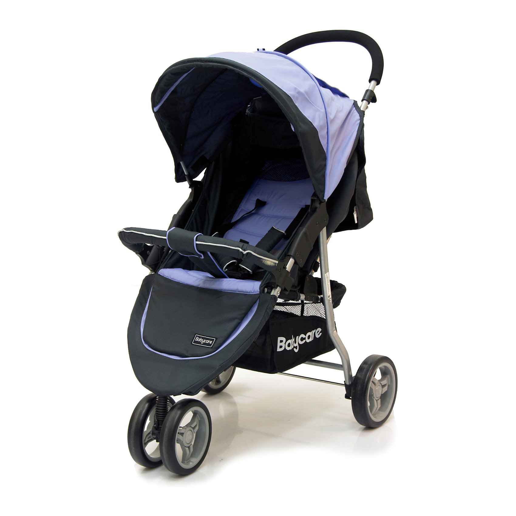 Прогулочная коляска Baby Care Jogger Lite, фиолетовыйНедорогие коляски<br>Характеристики коляски Baby Care Jogger Lite:<br><br>• угол наклона спинки регулируется почти до горизонтального положения;<br>• регулируемый капюшон оснащен солнцезащитным козырьком;<br>• на капюшоне имеется смотровое окошко под клапаном и карман для мелочей;<br>• регулируемая подножка;<br>• наличие 5-ти точечных ремней безопасности;<br>• каркасный съемный бампер с мягким чехлом;<br>• тканевый разделитель для ножек, крепится кнопкой к бамперу;<br>• материал прогулочного блока: полиэстер. <br><br>Характеристики шасси коляски Baby Care Jogger Lite:<br><br>• 3-х колесная коляска;<br>• пластиковые колеса;<br>• переднее сдвоенное поворотное колесо с блокировкой;<br>• вместительная корзина для покупок;<br>• тип складывания: книжка, устойчивая в сложенном виде в вертикальном положении;<br>• материал рамы: алюминий;<br>• материал колес: пластик.<br><br>Маневренная прогулочная коляска с высокой степенью проходимости предназначена для детей в возрасте от 6 месяцев до 3-х лет, вес которых находится в пределах 15 кг. Регулируемая спинка и подножка позволяют подобрать для малыша удобное положение как во время сна, так и во время бодрствования.  <br><br>Размеры коляски:<br><br>• размер в сложенном виде: 53х83х40 см;<br>• вес коляски: 7,5 кг;<br>• размер сиденья: 20х30 см, высота от пола 40 см;<br>• длина спального места: 60 см;<br>• ширина колесной базы: 53 см;<br>• диаметр переднего колеса: 17 см;<br>• диаметр заднего колеса: 19 см;<br>• размер упаковки: 80х20х48 см;<br>• вес упаковки: 9 кг.<br><br>Комплектация: <br><br>• прогулочный блок с капюшоном и бампером;<br>• шасси с колесами и корзиной для покупок;<br>• чехол на ножки;<br>• встроенная москитная сетка под задней шторкой капюшона;<br>• инструкция на русском языке. <br><br>Прогулочную коляску Jogger Lite, Baby Care, фиолетовую можно купить в нашем интернет-магазине.<br><br>Ширина мм: 800<br>Глубина мм: 200<br>Высота мм: 480<br>Вес г: 9090<br>Возраст