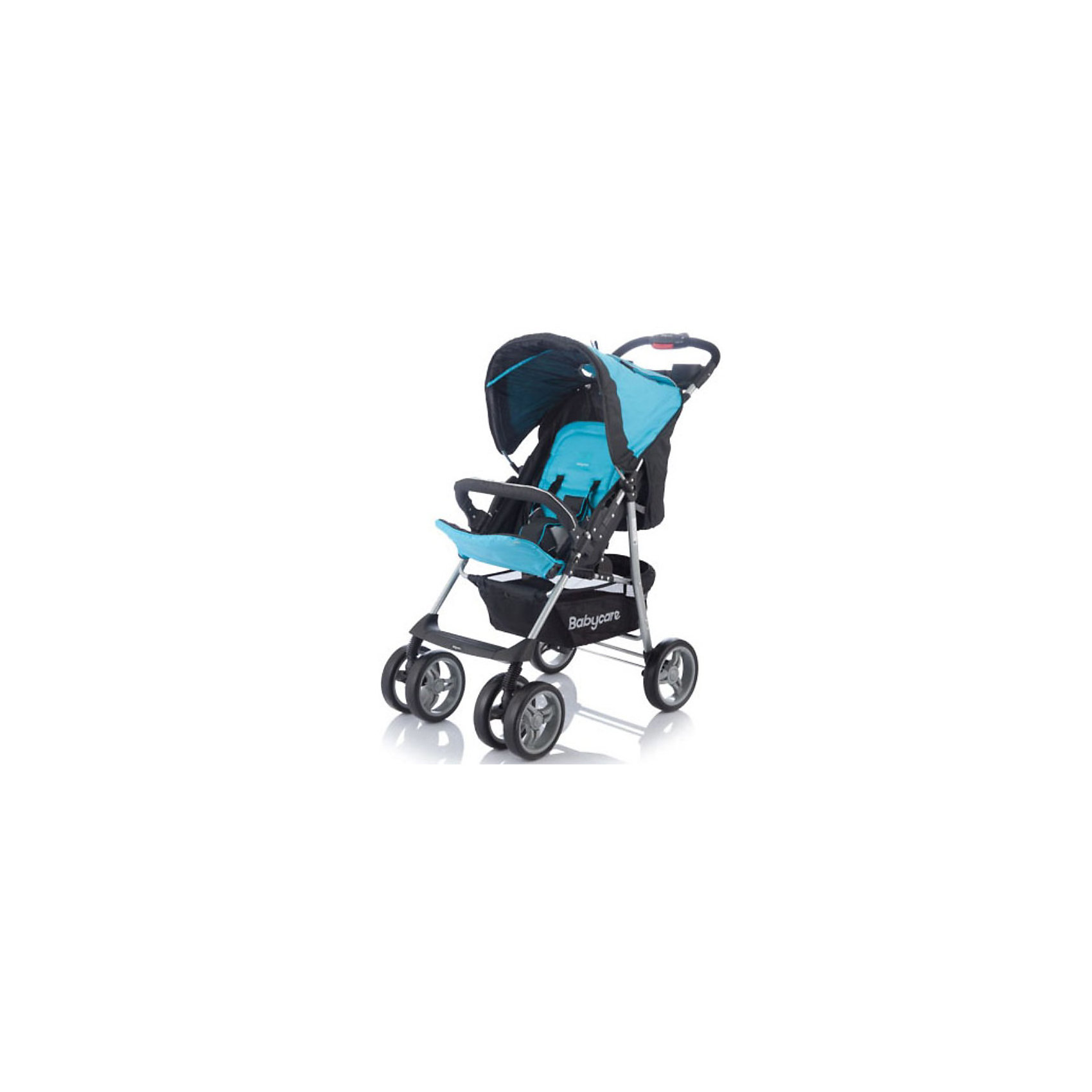 Baby Care Прогулочная коляска Voyager, Baby Care, голубой прогулочная коляска cool baby kdd 6699gb t fuchsia light grey