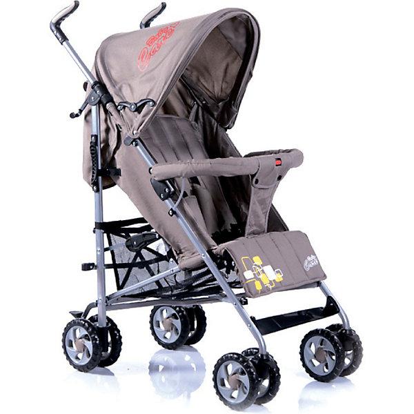 Коляска-трость Baby Care CityStyle, хакиКоляски-трости<br>Характеристики коляски-трости CityStyle Baby Care:<br><br>• спинка коляски регулируется плавно, несколько положений;<br>• имеются 5-ти точечные ремни безопасности;<br>• имеется бампер и мягкий разделитель для ножек;<br>• капюшон оснащен солнцезащитным козырьком;<br>• чехлы прогулочного блока съемные, стираются при температуре 30 градусов.<br><br>Характеристики шасси коляски CityStyle Baby Care:<br><br>• тип складывания: трость;<br>• материал рамы: алюминий;<br>• сдвоенные колеса, передние поворотные;<br>• фиксатор от раскладывания, механический крючок;<br>• сетчатая корзина для покупок;<br>• стояночный ножной тормоз.<br><br>Размеры коляски:<br><br>• размер в разложенном виде: 50х68х105 см;<br>• вес коляски: 6,2 кг;<br>• ширина сиденья: 34 см;<br>• глубина сиденья: 32 см;<br>• длина спального места: 78 см;<br>• ширина колесной базы: 47 см;<br>• диаметр колес: 15 см;<br>• размер упаковки: 100,5х20х27 см;<br>• вес упаковки: 7,5 кг.<br><br>Коляска-трость предназначена для детей в возрасте от 7 месяцев до 3-х лет. Легкая и маневренная прогулочная коляска подходит для путешествий. Наклон спинки коляски плавно регулируется 5 положениях. Коляска оснащена страховочным бампером и ремнями безопасности. Глубокий капор защищает малыша от солнечных лучей и небольших осадков. <br><br>Коляску-трость CityStyle, Baby Care, хаки можно купить в нашем интернет-магазине.<br><br>Ширина мм: 1070<br>Глубина мм: 350<br>Высота мм: 300<br>Вес г: 7400<br>Цвет: хаки<br>Возраст от месяцев: 6<br>Возраст до месяцев: 48<br>Пол: Унисекс<br>Возраст: Детский<br>SKU: 3534868
