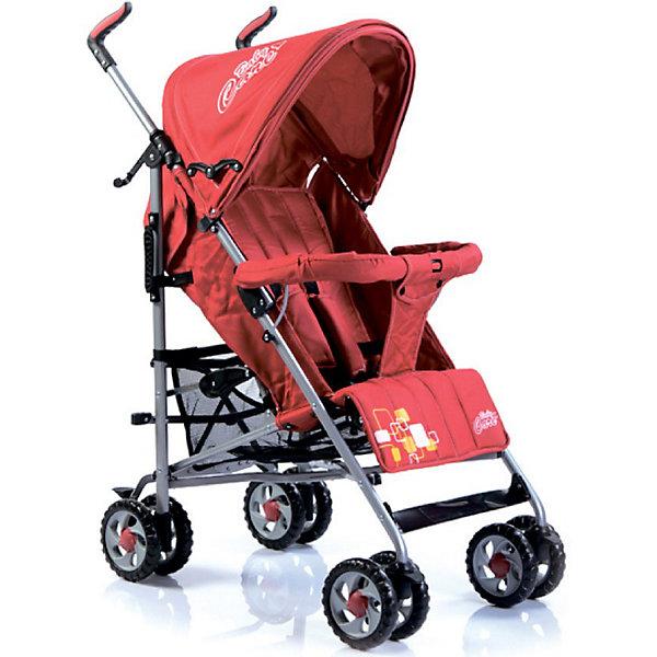 Коляска-трость Baby Care CityStyle, красныйНедорогие коляски<br>Характеристики коляски-трости CityStyle Baby Care:<br><br>• спинка коляски регулируется плавно, несколько положений;<br>• имеются 5-ти точечные ремни безопасности;<br>• имеется бампер и мягкий разделитель для ножек;<br>• капюшон оснащен солнцезащитным козырьком;<br>• чехлы прогулочного блока съемные, стираются при температуре 30 градусов.<br><br>Характеристики шасси коляски CityStyle Baby Care:<br><br>• тип складывания: трость;<br>• материал рамы: алюминий;<br>• сдвоенные колеса, передние поворотные;<br>• фиксатор от раскладывания, механический крючок;<br>• сетчатая корзина для покупок;<br>• стояночный ножной тормоз.<br><br>Размеры коляски:<br><br>• размер в разложенном виде: 50х68х105 см;<br>• вес коляски: 6,2 кг;<br>• ширина сиденья: 34 см;<br>• глубина сиденья: 32 см;<br>• длина спального места: 78 см;<br>• ширина колесной базы: 47 см;<br>• диаметр колес: 15 см;<br>• размер упаковки: 100,5х20х27 см;<br>• вес упаковки: 7,5 кг.<br><br>Коляска-трость предназначена для детей в возрасте от 7 месяцев до 3-х лет. Легкая и маневренная прогулочная коляска подходит для путешествий. Наклон спинки коляски плавно регулируется 5 положениях. Коляска оснащена страховочным бампером и ремнями безопасности. Глубокий капор защищает малыша от солнечных лучей и небольших осадков. <br><br>Коляску-трость CityStyle, Baby Care, красную можно купить в нашем интернет-магазине.<br>Ширина мм: 1070; Глубина мм: 350; Высота мм: 300; Вес г: 7400; Цвет: красный; Возраст от месяцев: 6; Возраст до месяцев: 48; Пол: Унисекс; Возраст: Детский; SKU: 3534869;