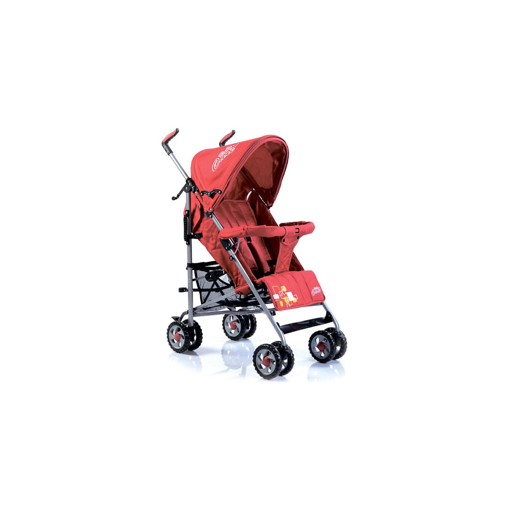 Коляска-трость CityStyle, Baby Care, красныйХарактеристики коляски-трости CityStyle Baby Care:<br><br>• спинка коляски регулируется плавно, несколько положений;<br>• имеются 5-ти точечные ремни безопасности;<br>• имеется бампер и мягкий разделитель для ножек;<br>• капюшон оснащен солнцезащитным козырьком;<br>• чехлы прогулочного блока съемные, стираются при температуре 30 градусов.<br><br>Характеристики шасси коляски CityStyle Baby Care:<br><br>• тип складывания: трость;<br>• материал рамы: алюминий;<br>• сдвоенные колеса, передние поворотные;<br>• фиксатор от раскладывания, механический крючок;<br>• сетчатая корзина для покупок;<br>• стояночный ножной тормоз.<br><br>Размеры коляски:<br><br>• размер в разложенном виде: 50х68х105 см;<br>• вес коляски: 6,2 кг;<br>• ширина сиденья: 34 см;<br>• глубина сиденья: 32 см;<br>• длина спального места: 78 см;<br>• ширина колесной базы: 47 см;<br>• диаметр колес: 15 см;<br>• размер упаковки: 100,5х20х27 см;<br>• вес упаковки: 7,5 кг.<br><br>Коляска-трость предназначена для детей в возрасте от 7 месяцев до 3-х лет. Легкая и маневренная прогулочная коляска подходит для путешествий. Наклон спинки коляски плавно регулируется 5 положениях. Коляска оснащена страховочным бампером и ремнями безопасности. Глубокий капор защищает малыша от солнечных лучей и небольших осадков. <br><br>Коляску-трость CityStyle, Baby Care, красную можно купить в нашем интернет-магазине.<br><br>Ширина мм: 1070<br>Глубина мм: 350<br>Высота мм: 300<br>Вес г: 7400<br>Цвет: красный<br>Возраст от месяцев: 6<br>Возраст до месяцев: 48<br>Пол: Унисекс<br>Возраст: Детский<br>SKU: 3534869