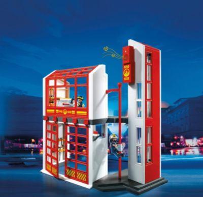 PLAYMOBIL® Пожарная станция с сигнализацией, PLAYMOBIL