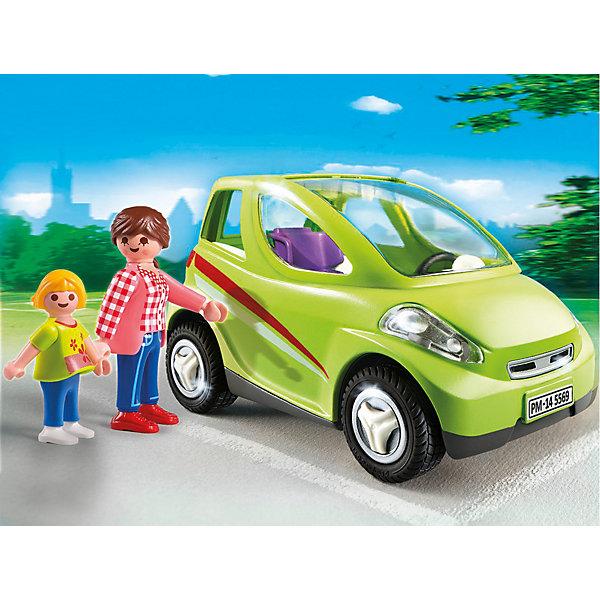 Детский сад: Городской автомобиль, PLAYMOBILПластмассовые конструкторы<br>Конструктор PLAYMOBIL (Плеймобил) 5569 Детский сад: Городской автомобиль - находка для заботливых родителей! Конструктор Вашего крохи должен быть именно таким: красочным, безопасным и очень привлекательным. Серия Детский сад особенно понравится девчонкам, ведь они обожают укачивать, воспитывать и играть с малышами. В наборе Городской автомобиль ребенок найдет фигурки мамы и дочурки, которые едут утром в детский сад. Маленькая и очень жизнерадостная двухместная машинка салатового цвета очень подходит маме и дочке. Мама сажает дочку в специальное кресло. С помощью этого наборы Вы сможете наглядно объяснить малышу как важно, чтобы ребенок ехал в автомобиле с соблюдением правил дорожного движения. Чтобы не скучать в пути мама с дочкой поют песни и делятся впечатлениями. Для удобства пассажиров лобовое стекло машины легко снимается. Создай интересные сюжеты с набором Городской автомобиль или объедини его с другими наборами серии и игра станет еще интереснее. Придумывая замечательные сюжеты с деталями конструктора, Ваш ребенок развивает фантазию учится заботе о малышах и просто прекрасно проводит время!<br><br>Дополнительная информация:<br><br>- Конструкторы PLAYMOBIL (Плеймобил) отлично развивают мелкую моторику, фантазию и воображение;<br>- В наборе: 2 минифигурки (мама, дочка), машина, детское кресло;<br>- Количество деталей: 24 шт;<br>- Материал: безопасный пластик;<br>- Размер минифигурки мамы: 7,5 см;<br>- Размер упаковки: 47,5 х 16,5 х 21,5 см<br><br>Конструктор PLAYMOBIL (Плеймобил) 5569 Детский сад: Городской автомобиль можно купить в нашем интернет-магазине.<br><br>Ширина мм: 202<br>Глубина мм: 154<br>Высота мм: 78<br>Вес г: 238<br>Возраст от месяцев: 48<br>Возраст до месяцев: 120<br>Пол: Женский<br>Возраст: Детский<br>SKU: 3536843