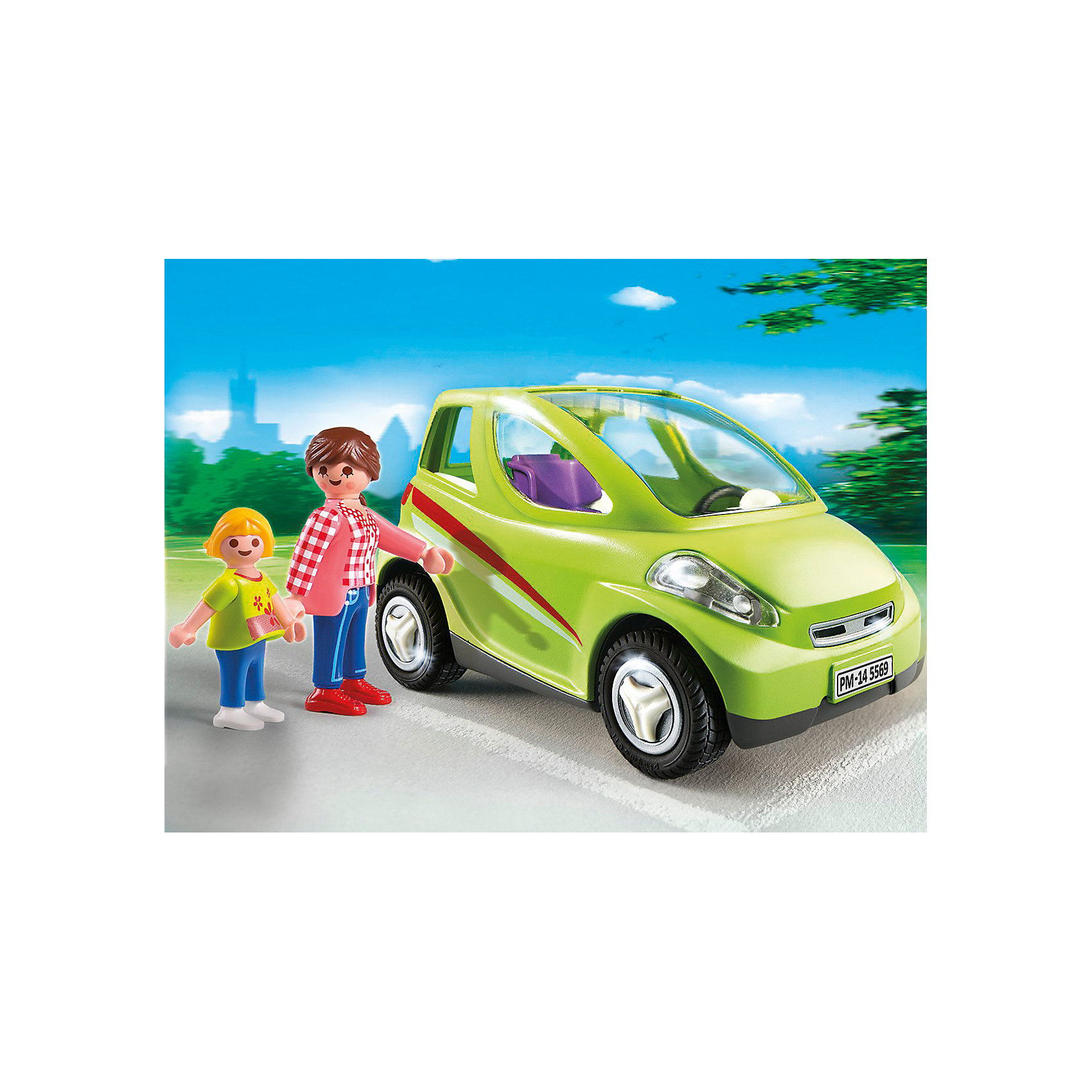 PLAYMOBIL® Детский сад: Городской автомобиль, PLAYMOBIL playmobil 5266 summer fun детский клуб с танц площадкой