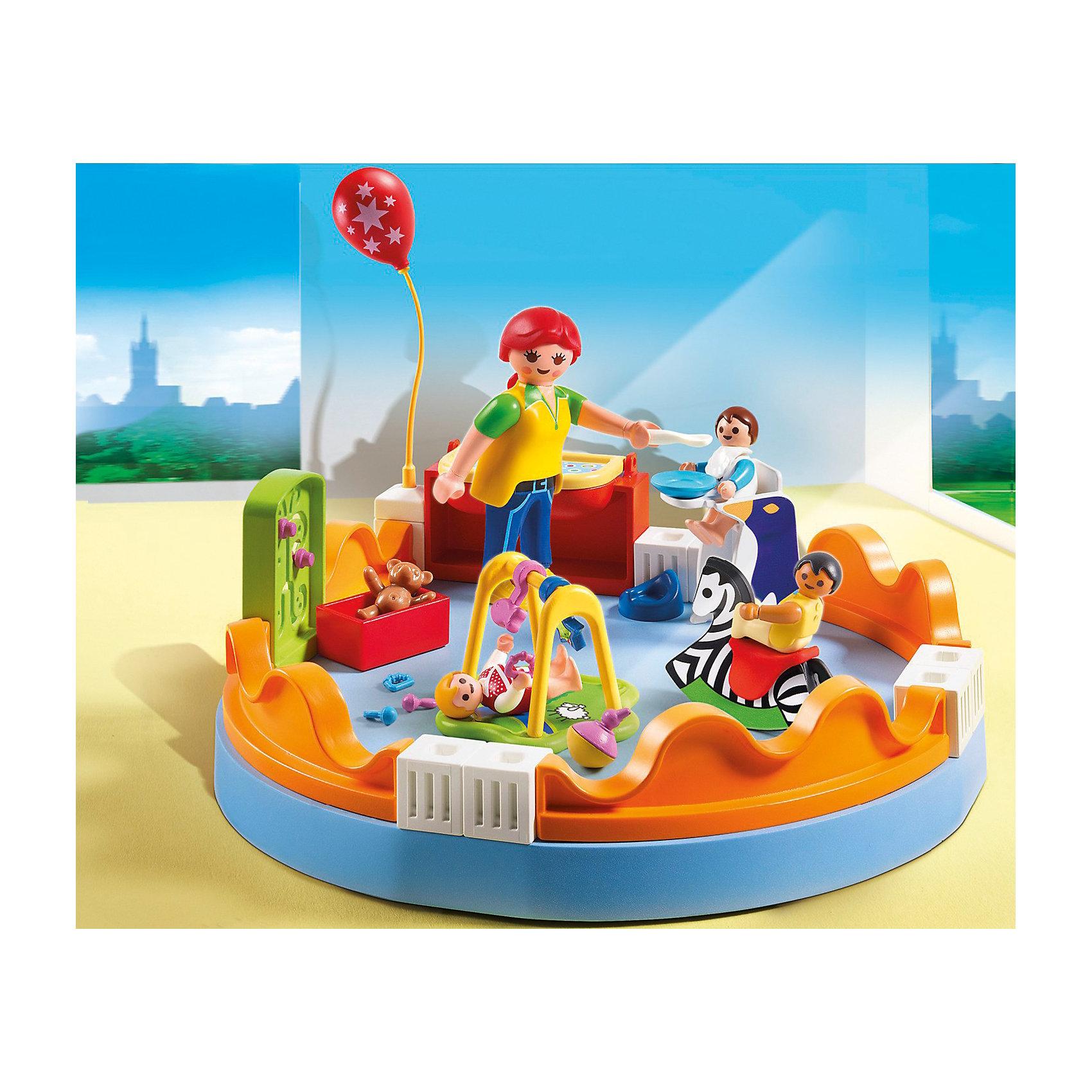 PLAYMOBIL® Группа детского сада, PLAYMOBIL playmobil 5266 summer fun детский клуб с танц площадкой