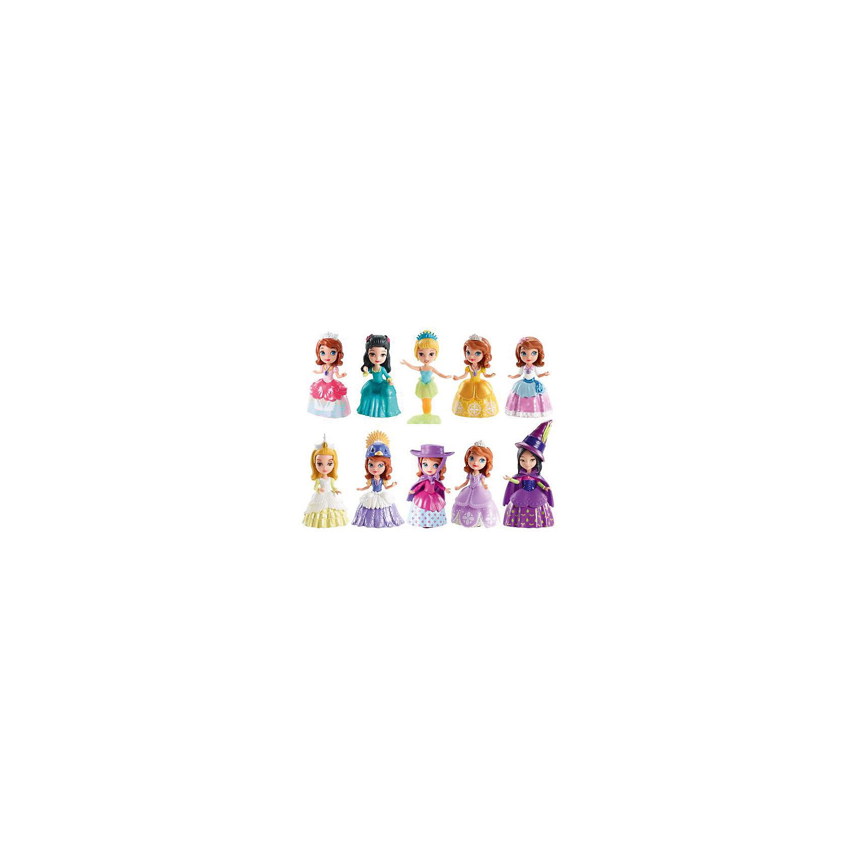 Базовые фигурки в ассортименте, София ПрекраснаяОкунись в мир настоящей принцессы вместе с Софией и ее друзьями. Каждая кукла одета в элегантное платье с собственным аксессуаром. Сгибающаяся талия позволяет кукле сидеть и стоять. Собери всех куколок, проигрывай сцены из любимого мультфильма или придумывай свои новые истории. Игрушки выполнены из высококачественных материалов, прекрасно детализированы и реалистично раскрашены: максимально похожи на героев мультфильма.<br><br>Дополнительная информация:<br><br>-Материал: пластик, текстиль.<br>- Размер куклы: 7,5 см.<br>- Талия куклы сгибается.  <br>- Комплектация: фигурка, платье, аксессуар. <br>- Фигурка в ассортименте.<br>ВНИМАНИЕ! Данный артикул представлен в разных вариантах исполнения. К сожалению, заранее выбрать определенный вариант невозможно. При заказе нескольких фигурок возможно получение одинаковых.<br><br>Базовые фигурки в ассортименте, София Прекрасная, можно купить в нашем магазине.<br><br>Ширина мм: 40<br>Глубина мм: 165<br>Высота мм: 115<br>Вес г: 453<br>Возраст от месяцев: 36<br>Возраст до месяцев: 72<br>Пол: Женский<br>Возраст: Детский<br>SKU: 3537368