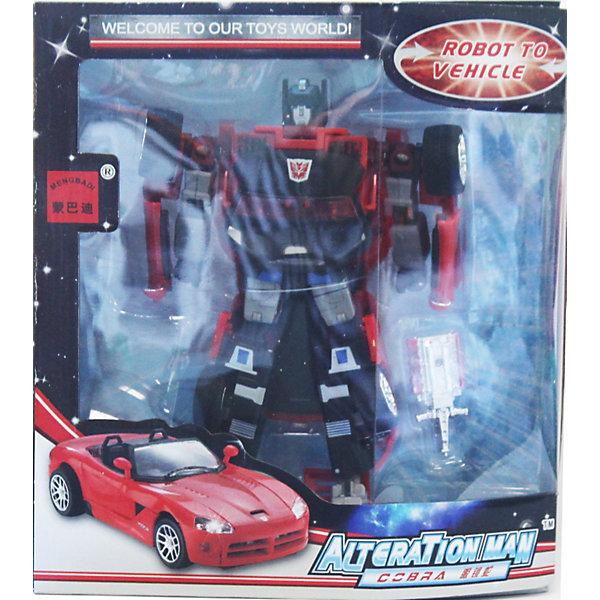 Робот-трансформер: Собирается в Кабриолет XXL, Play LineМашинки<br>Робот-трансформер: Собирается в Кабриолет XXL, Play Line (Плэй Лайн)-это уникальная игрушка для мальчиков.<br><br>Робот имеет высококачественное исполнение и выполнен в ярко-красном цвете. Легко трансформируется в стильную и мощную машину-кабриолет. С помощью игрушки ребята могут создавать новые увлекательные сюжеты для игр, что позволяет развивать логическое мышление, воображение, мелкую моторику рук.<br><br>Дополнительная информация:<br><br>- Размеры: 25х22х9 см<br>- Материал: пластмасса<br>- Вес: 370 г<br><br>Создайте все условия для интересного досуга ребенка-пополните его коллекцию трансформеров еще одним замечательным набором!<br><br>Робот-трансформер: Собирается в Кабриолет XXL, Play Line (Плэй Лайн) можно купить в нашем магазине.<br>Ширина мм: 120; Глубина мм: 300; Высота мм: 410; Вес г: 450; Возраст от месяцев: 36; Возраст до месяцев: 144; Пол: Мужской; Возраст: Детский; SKU: 3539025;